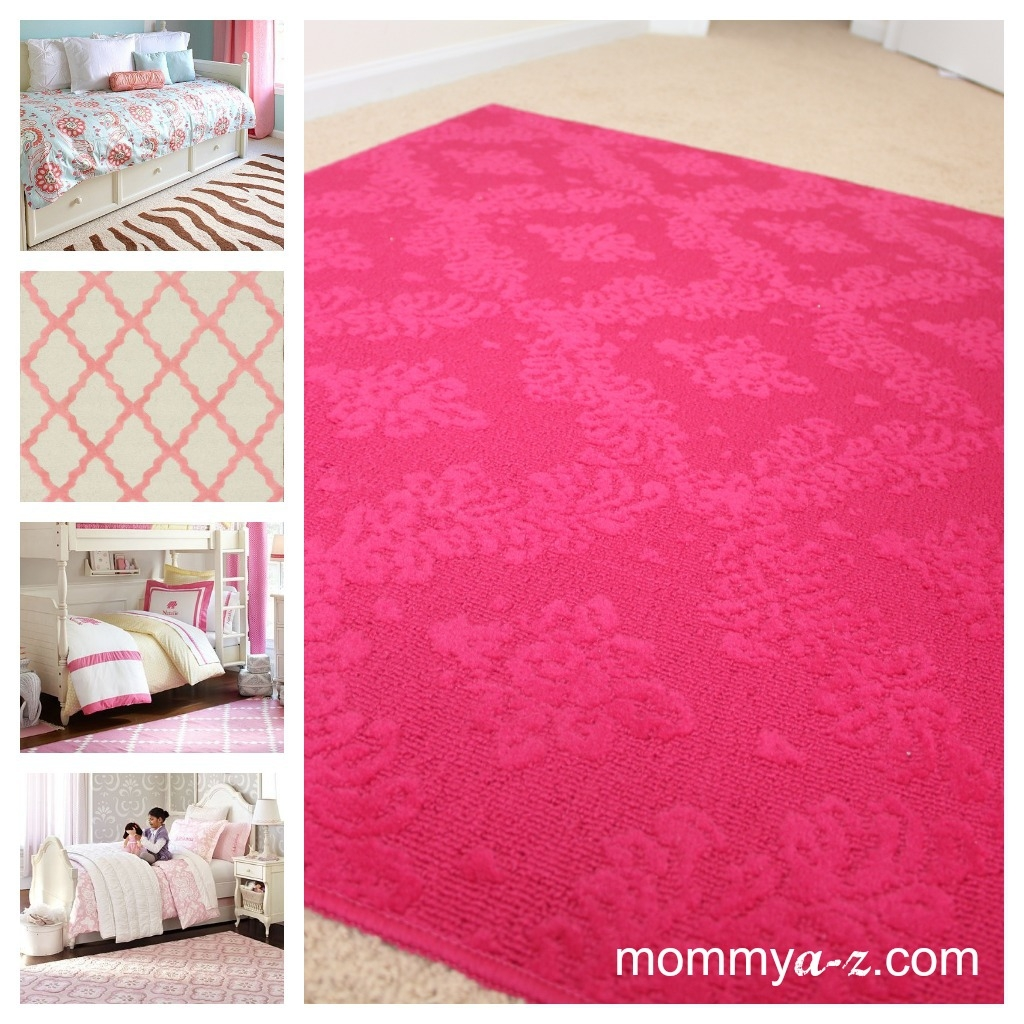 Rugs For Girls Room 12 Nice Decorating With Hot Pink And White With Fuschia Pink Carpets (Image 13 of 15)