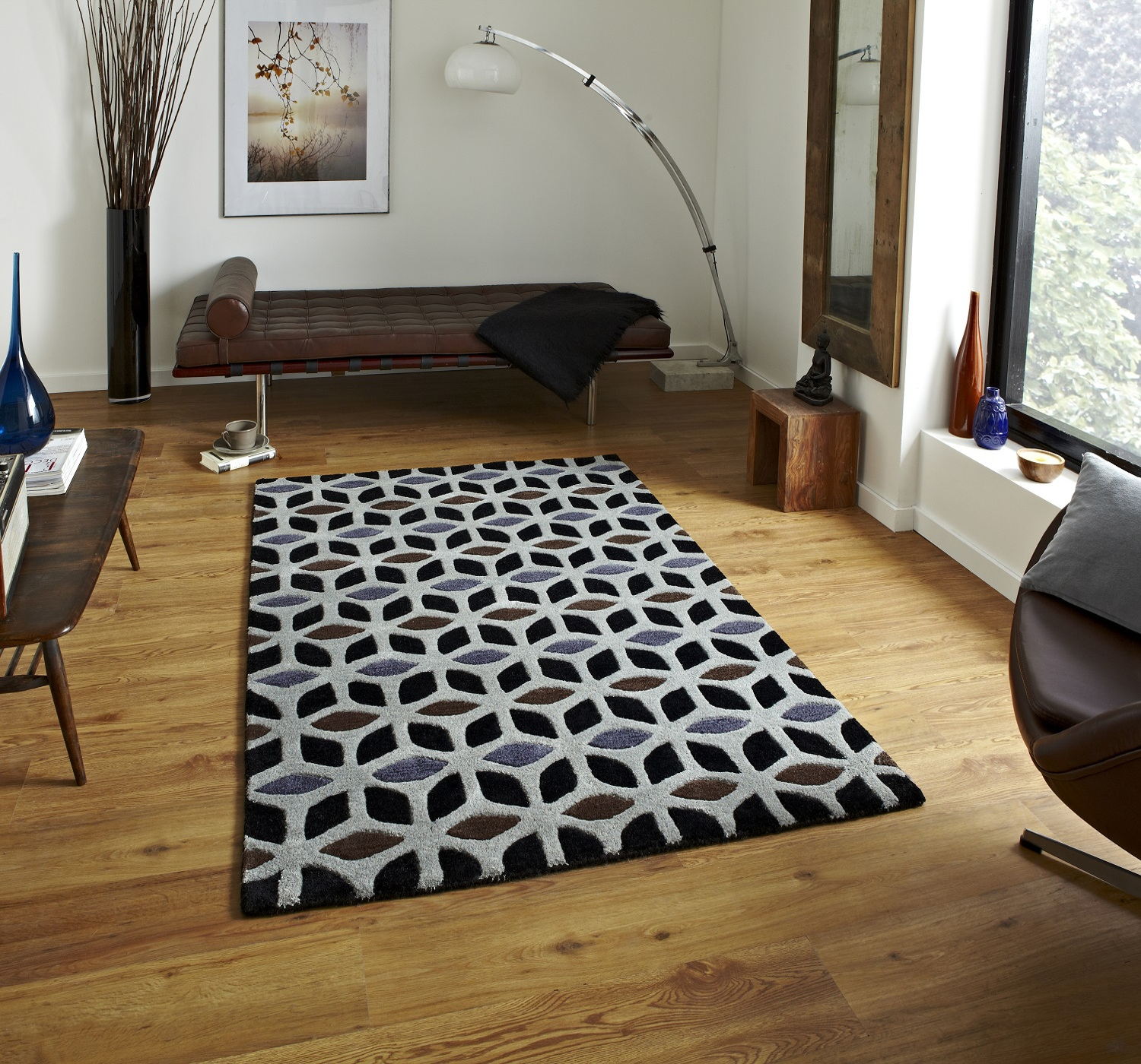 Rugs Geometric Design Home Decors Collection Regarding Large Geometric Rugs (Image 13 of 15)