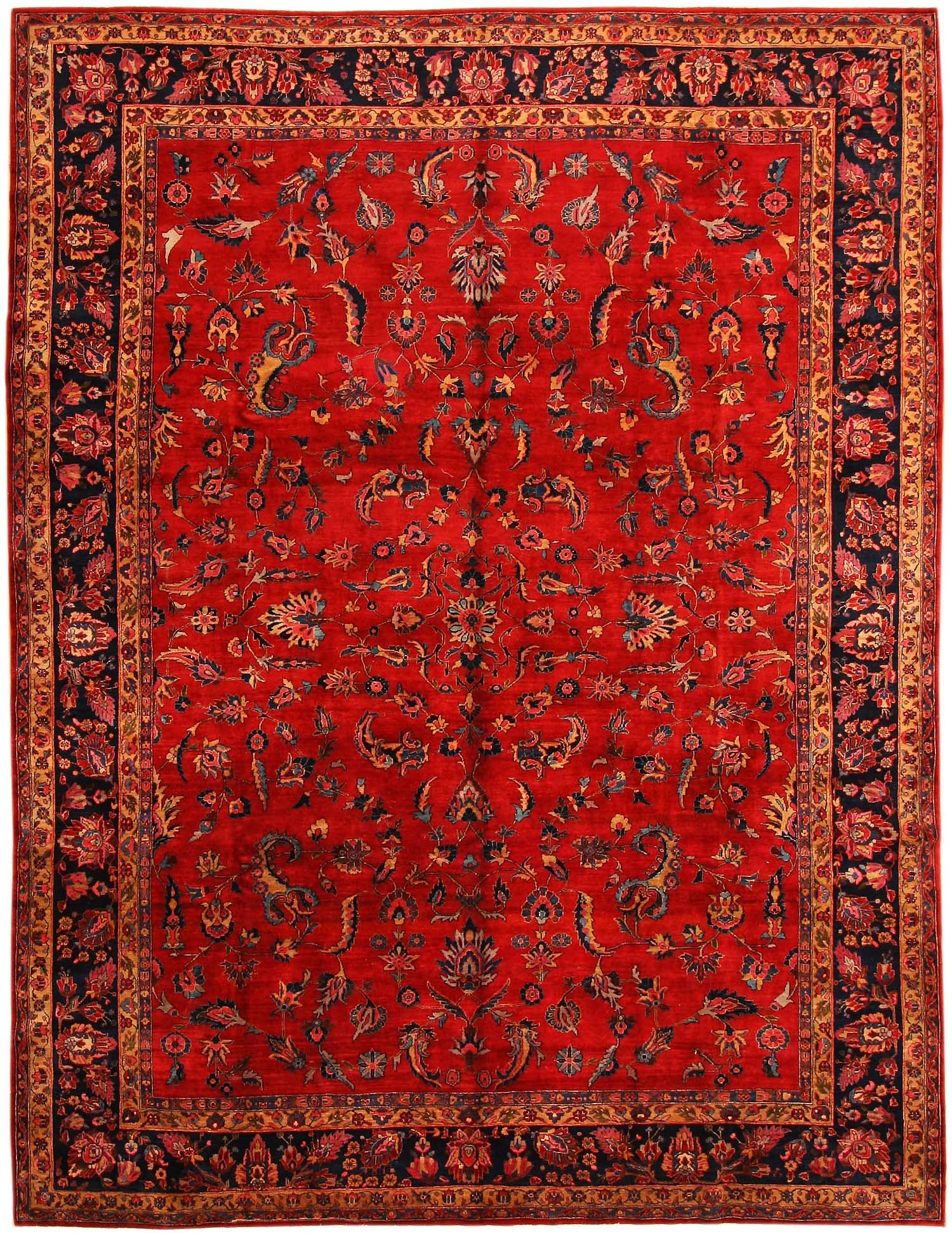 Rugs Persian Style Home Decors Collection With Regard To Persian Style Wool Rugs (Image 14 of 15)