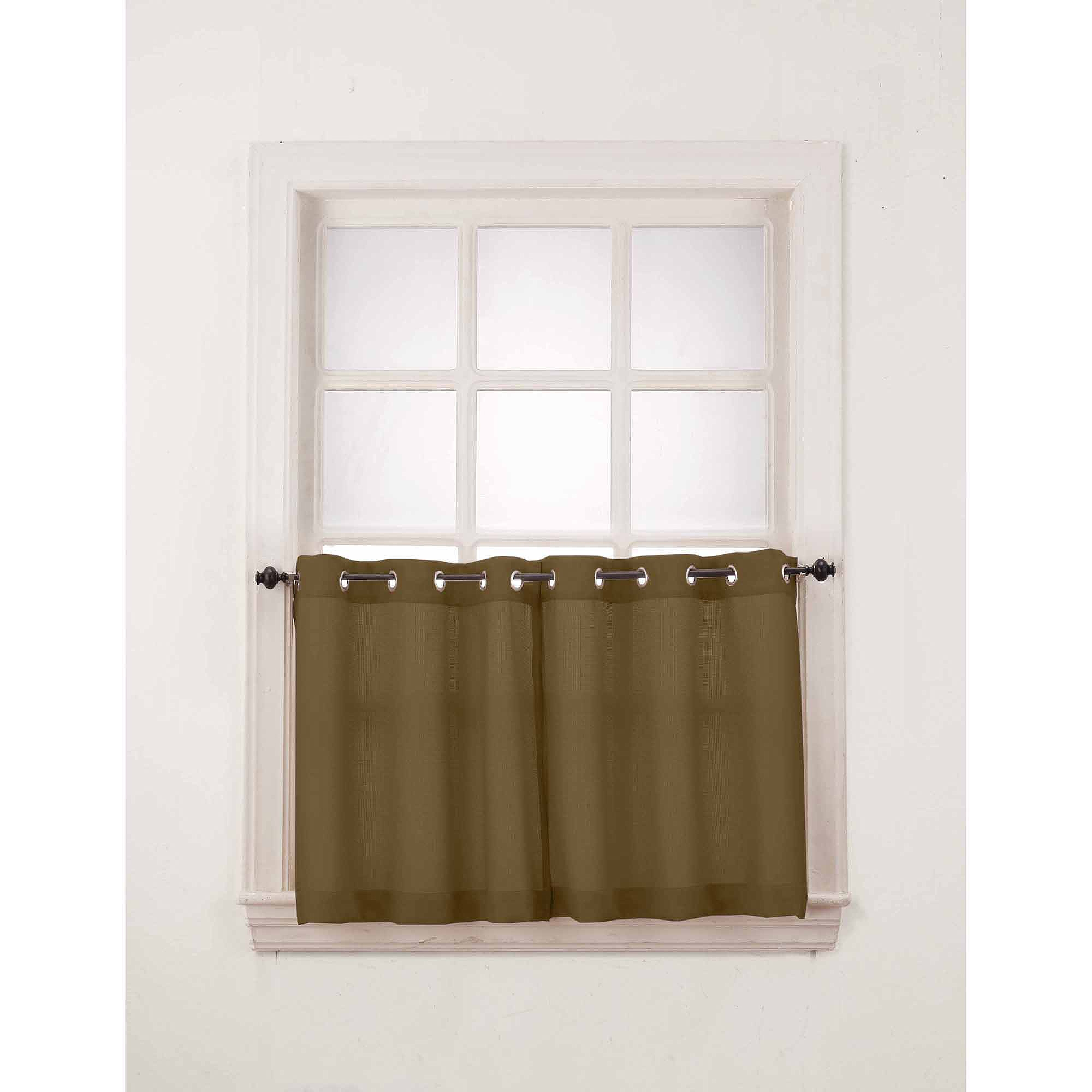 S Lichtenberg Co Montego Window Curtain Valancekitchen With Sage Green Kitchen Curtains (Image 19 of 25)