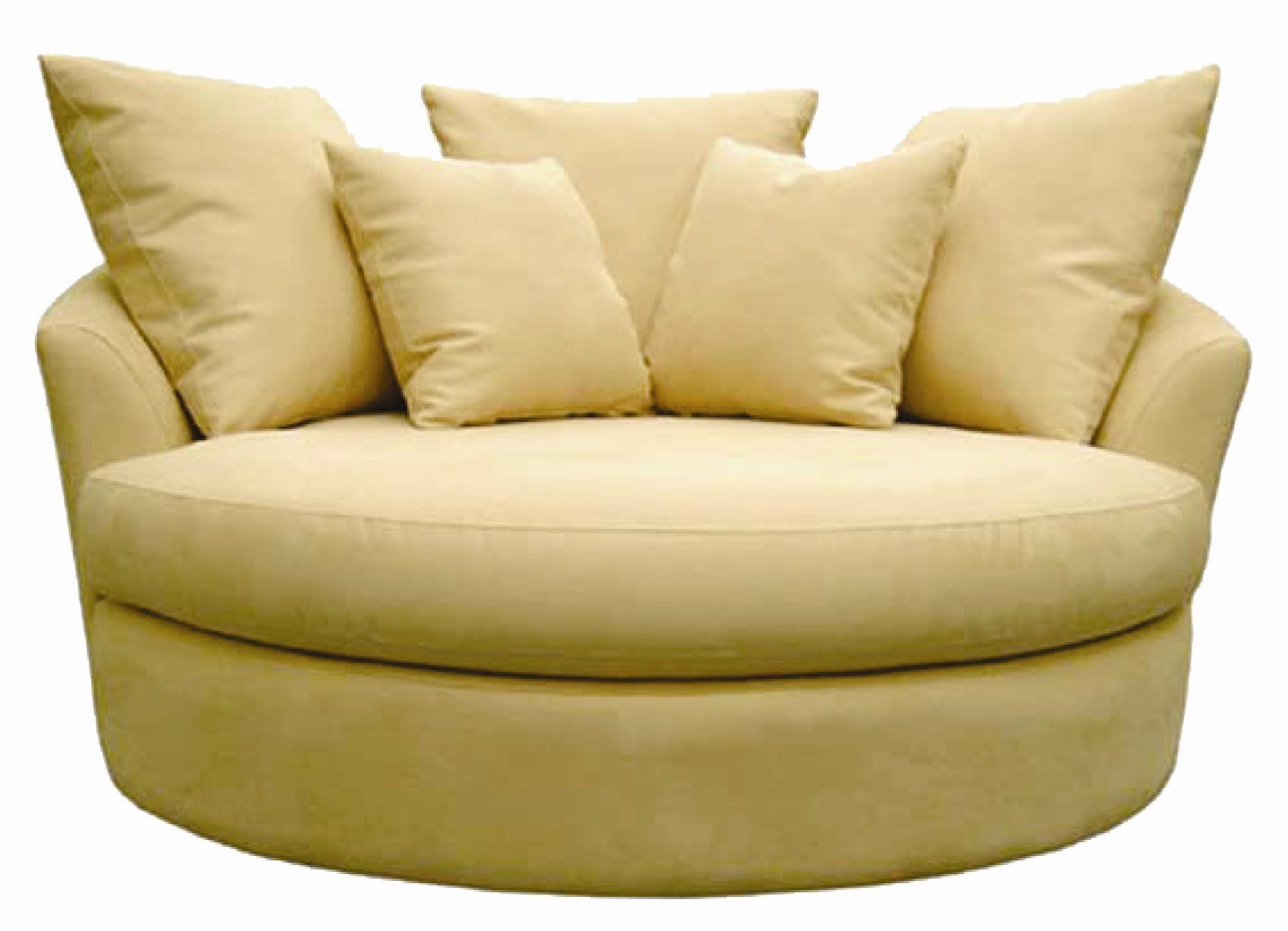 15 Ideas of Round Swivel Sofa Chairs | Sofa Ideas
