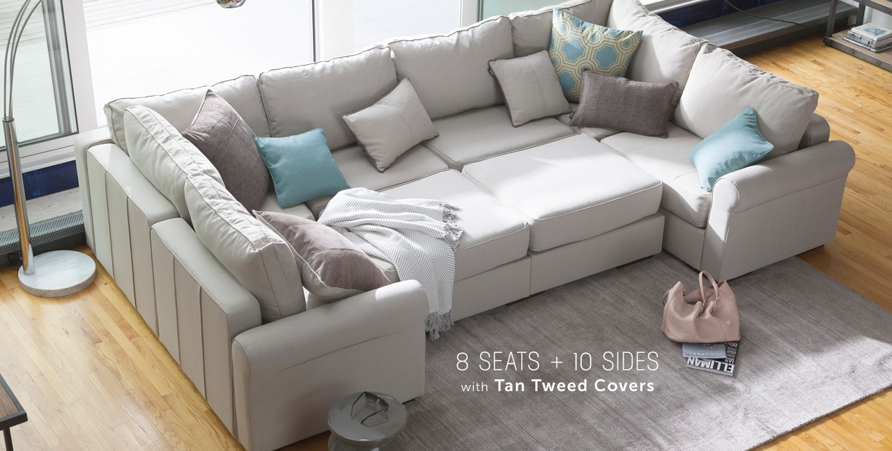 Sactionals Love In Furniture Form With Regard To Sofa With Washable Covers (Image 6 of 15)