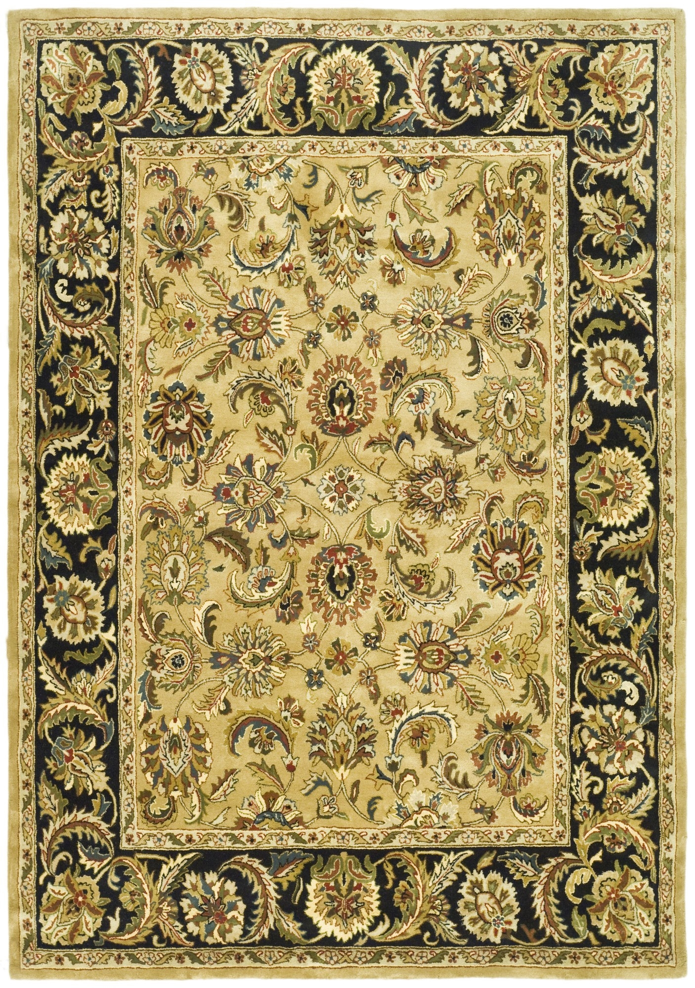 15 Best Black And Gold Oriental Rugs Area Rugs Ideas