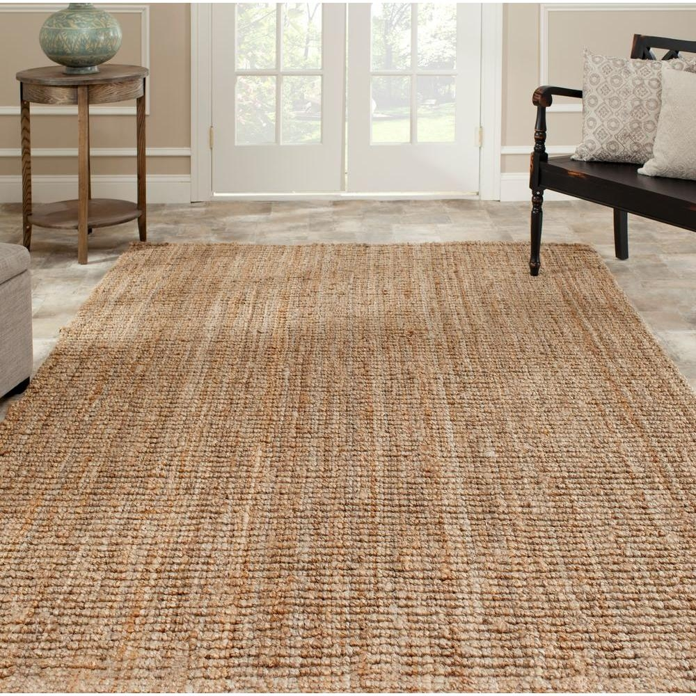 Safavieh Natural Fiber Beige 8 Ft X 10 Ft Area Rug Nf447a 8 Regarding Natural Rugs (Image 13 of 15)
