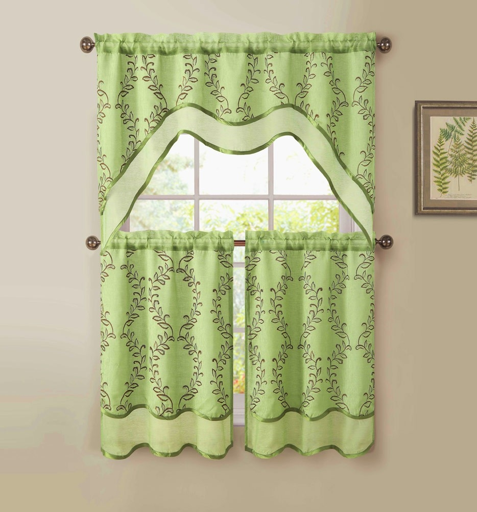 Sage Kitchen Curtains Best Curtain 2017 Regarding Sage Green Kitchen Curtains (Image 23 of 25)