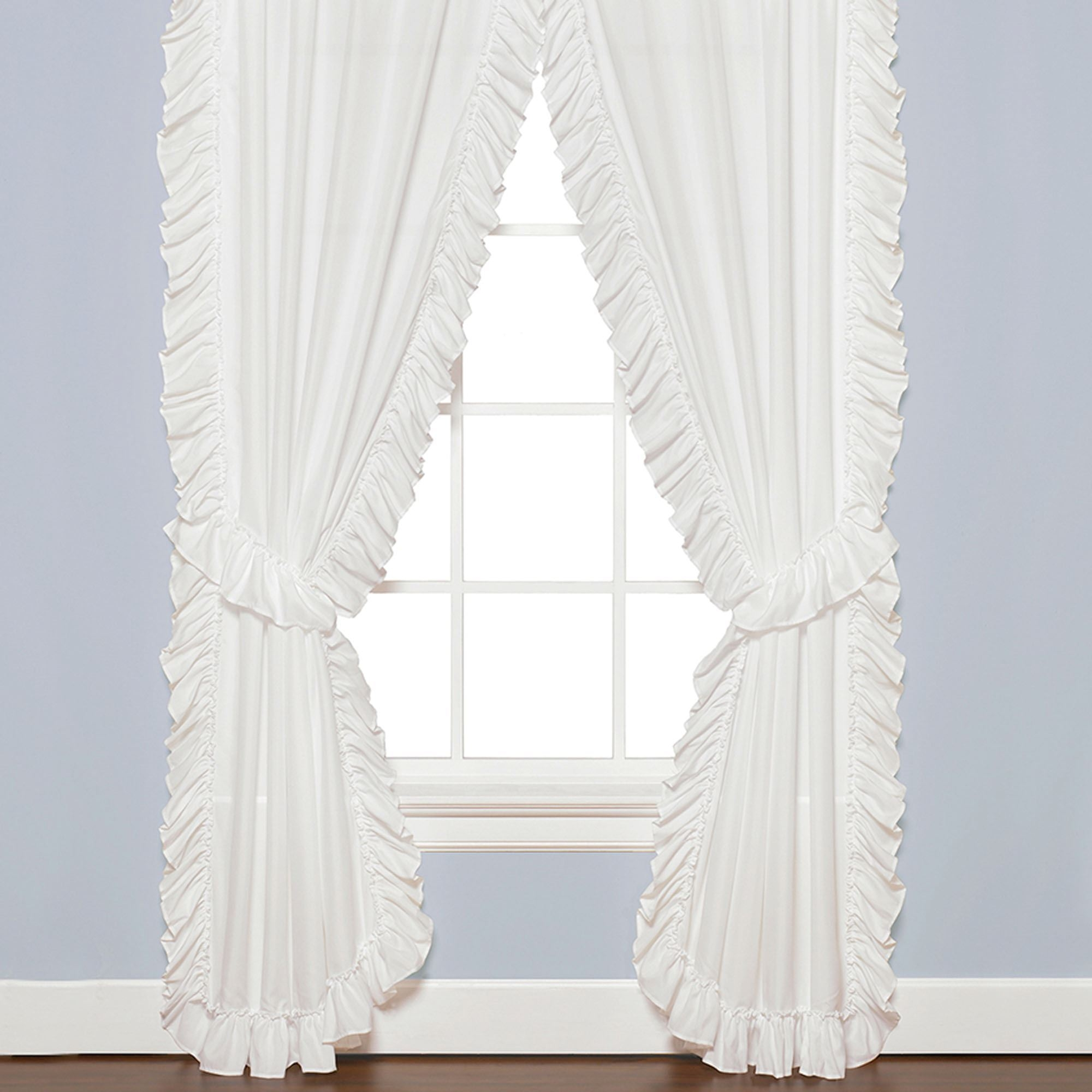 Featured Image of White Ruffle Curtains