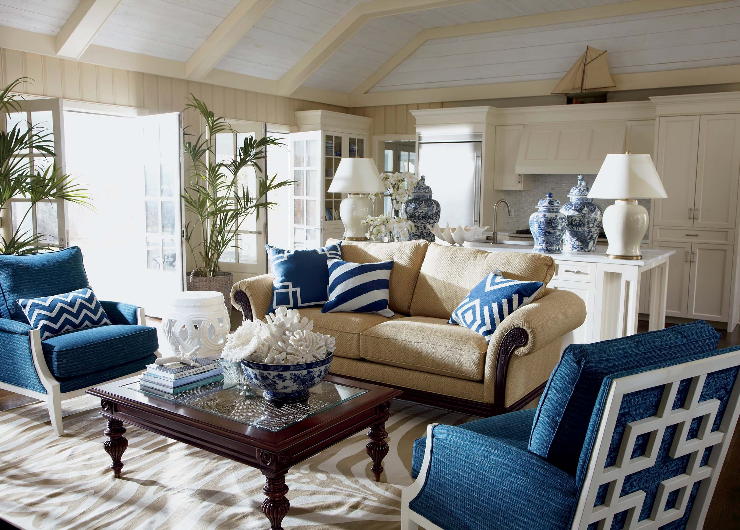 Sea Breeze Living Room Ethan Allen With Regard To Ethan Allen Sofas And Chairs (Image 13 of 15)