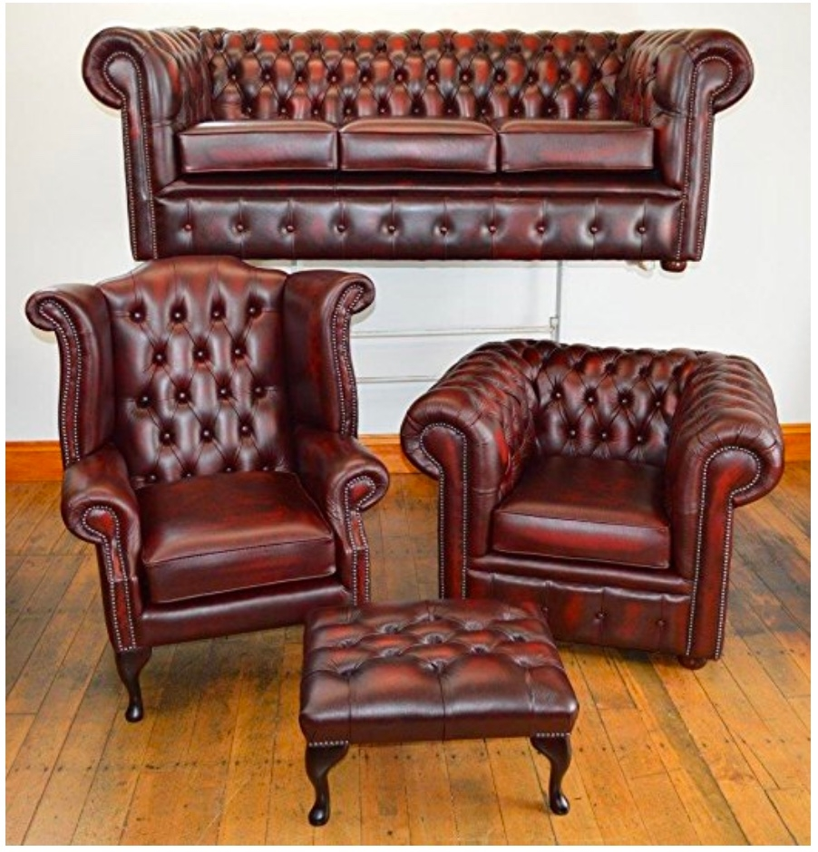 Second Hand Chesterfield Sofa Regarding Chesterfield Sofa And Chair (Image 12 of 15)