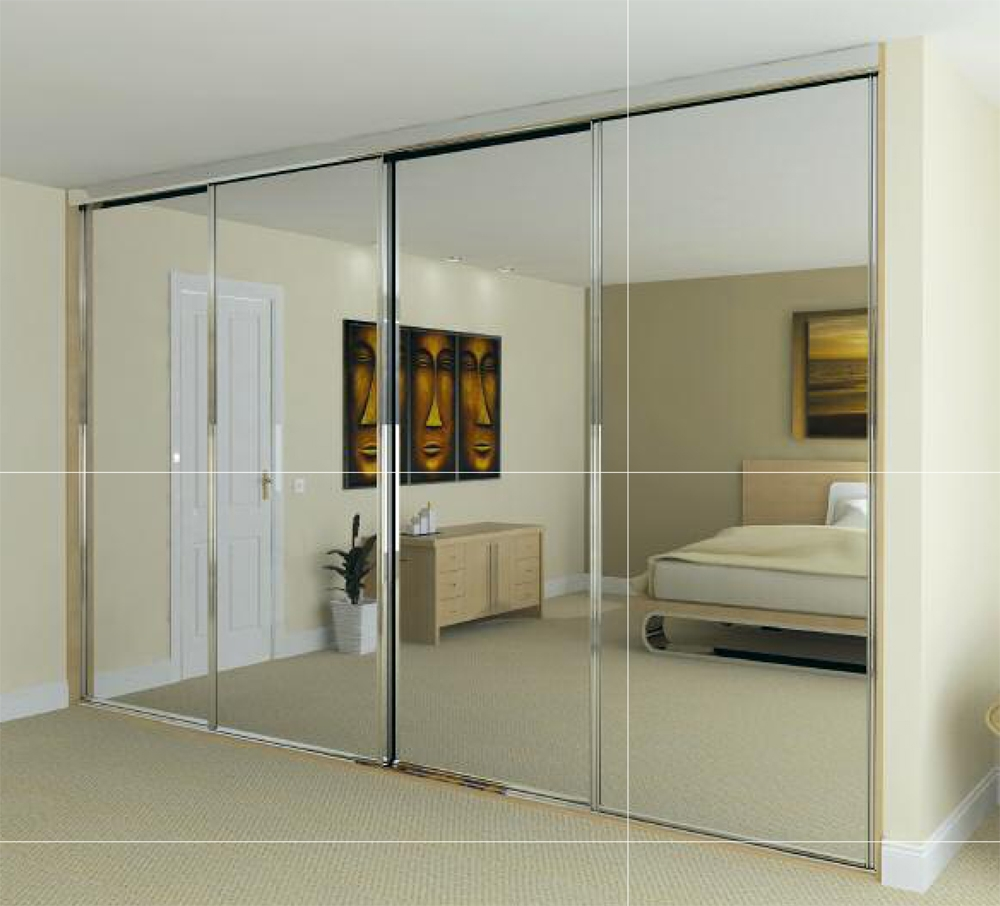 Series 4000 Sliding Doors Mirrored House Stuff Pinterest With Regard To Sliding Door Wardrobes (Image 14 of 25)