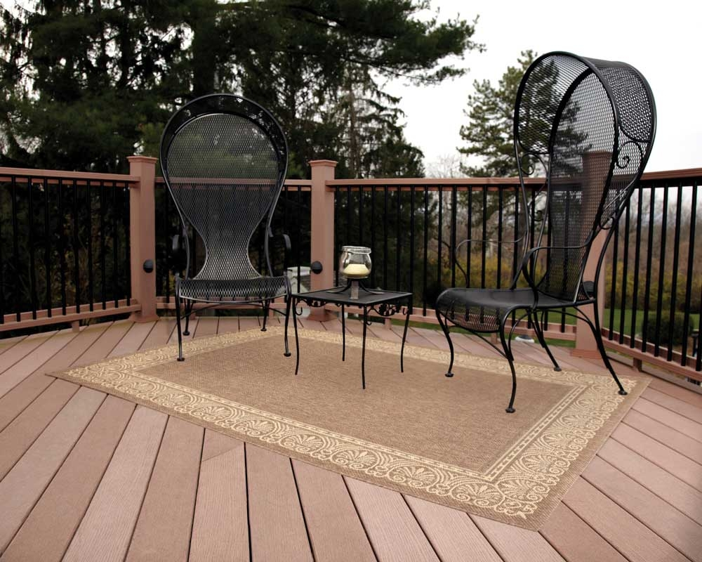 Setting Outdoor Rugs For Patios Interior Home Design With Regard To Outside Rugs For Decks (Image 12 of 15)