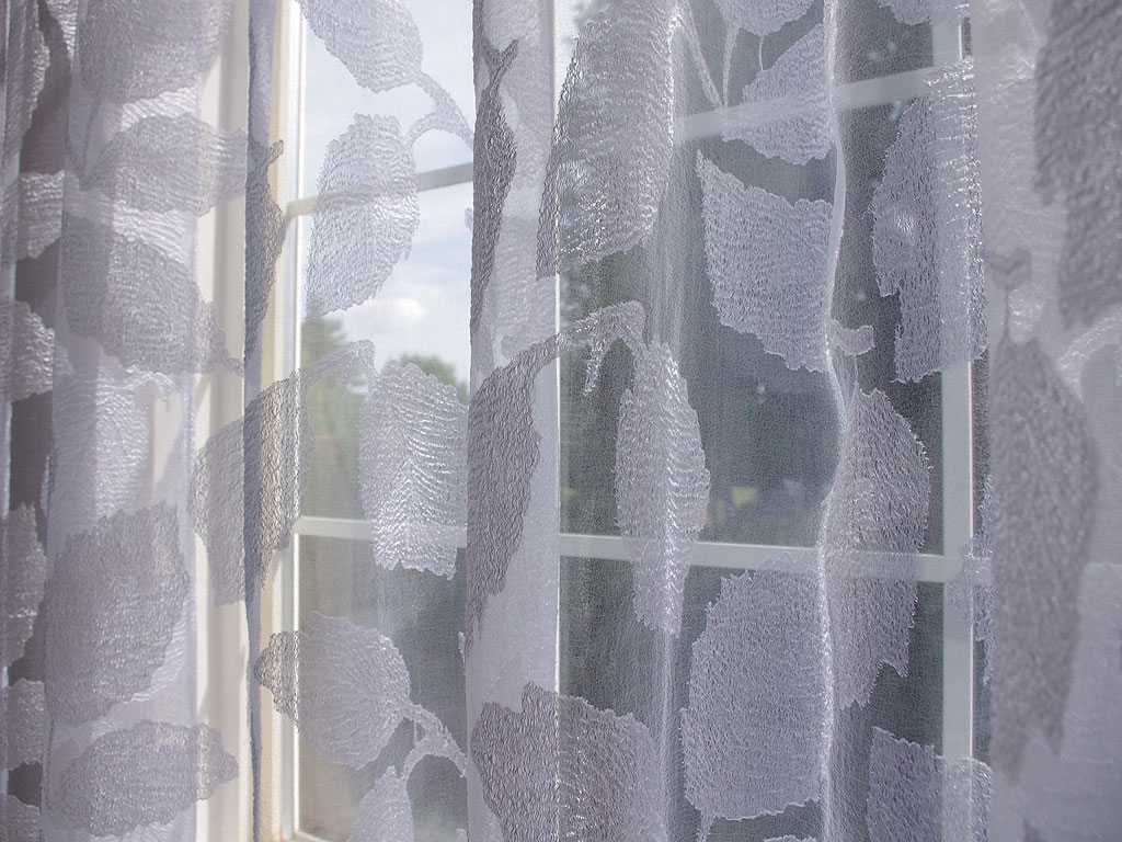 Sheer White Curtains Panel Curtain Mirrors Wall Decor In Sheer White Curtain Panels (Image 17 of 25)