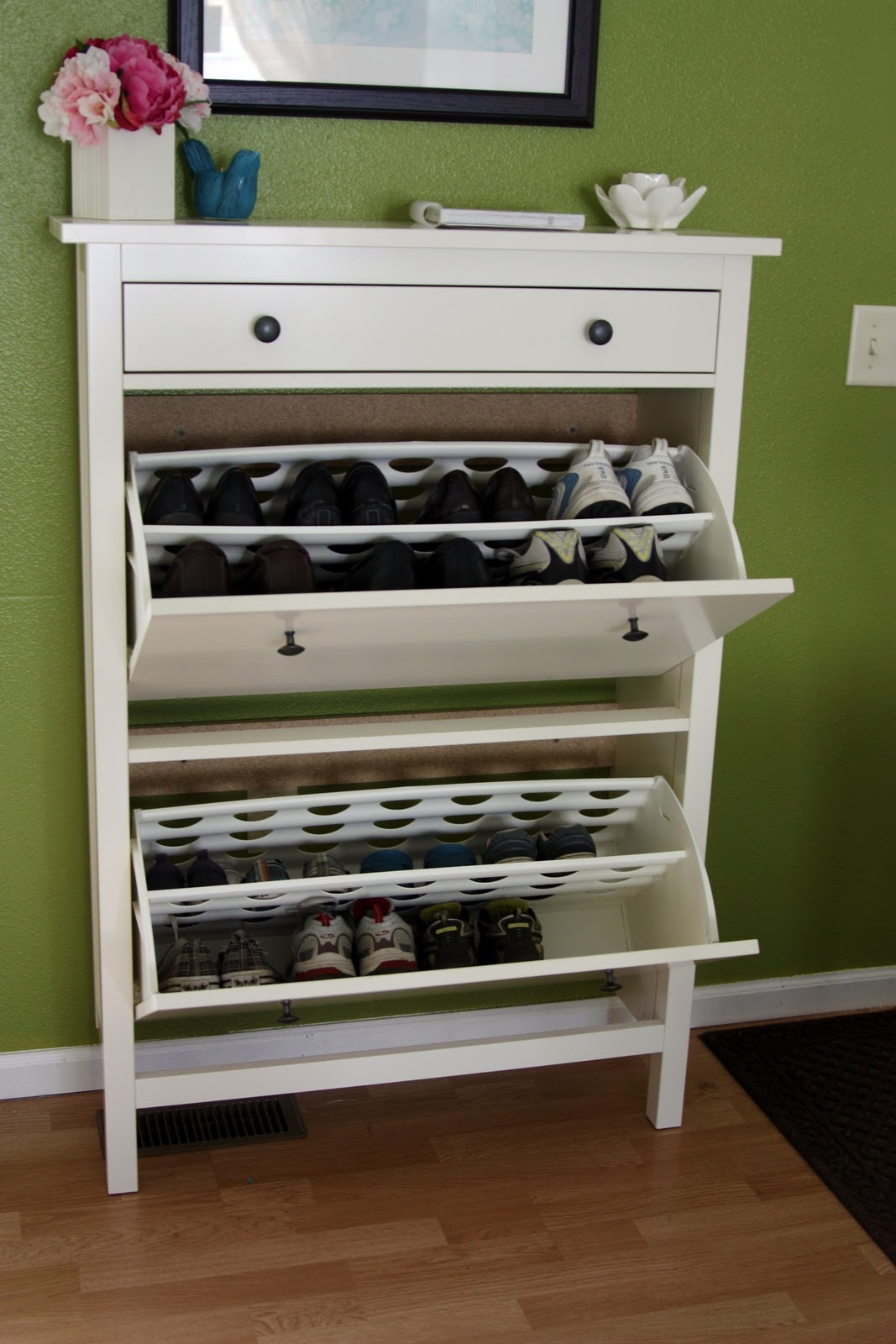 Shoe Organizer Cabinet Shoe Caddy Wire Shoe Rack Tall Narrow Shoe Pertaining To Wardrobe Shoe Storages (Image 17 of 25)