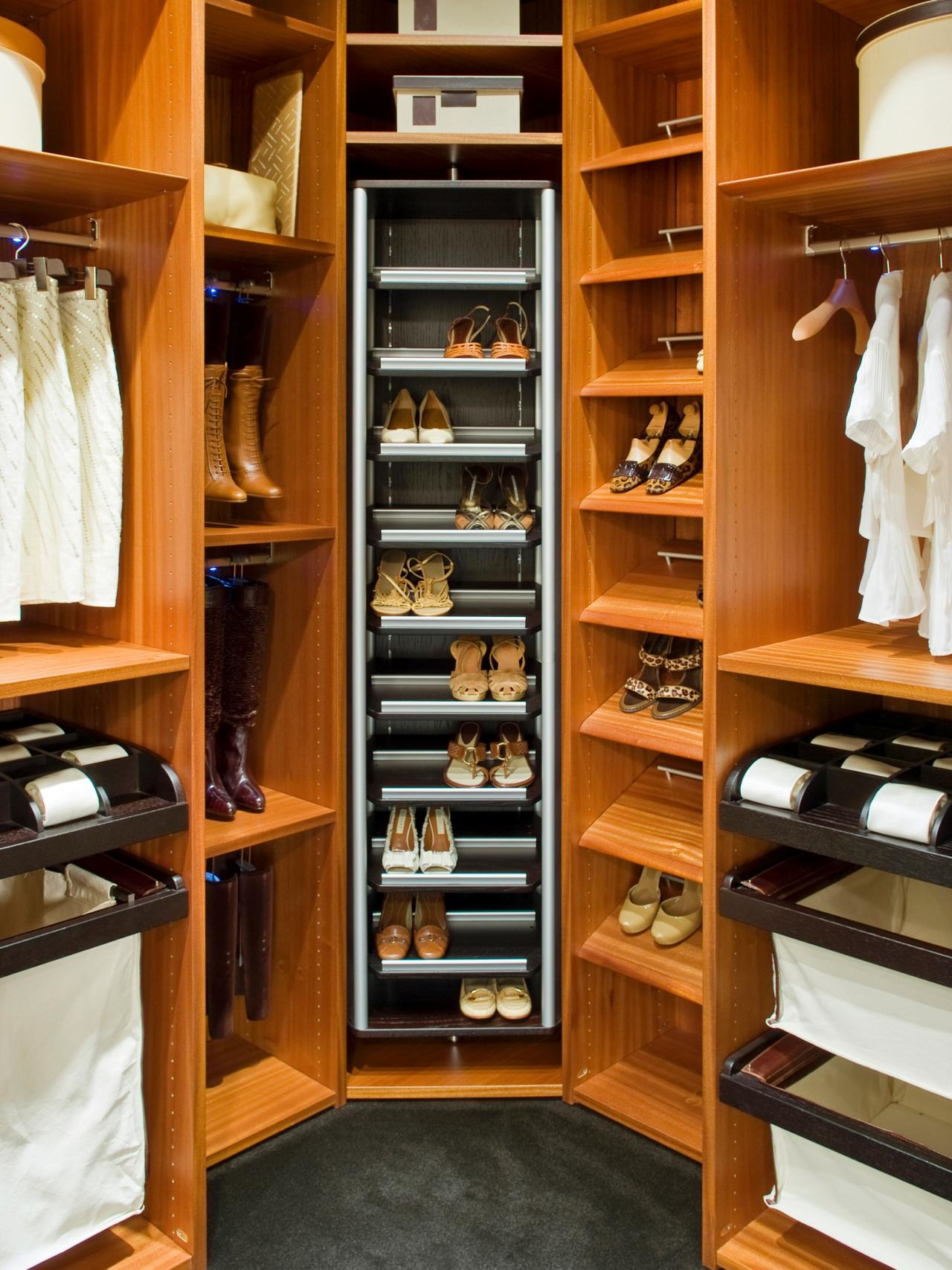 Shoe Storage And Organization Ideas Pictures Tips Options Hgtv Pertaining To Wardrobe Shoe Storages (Image 21 of 25)