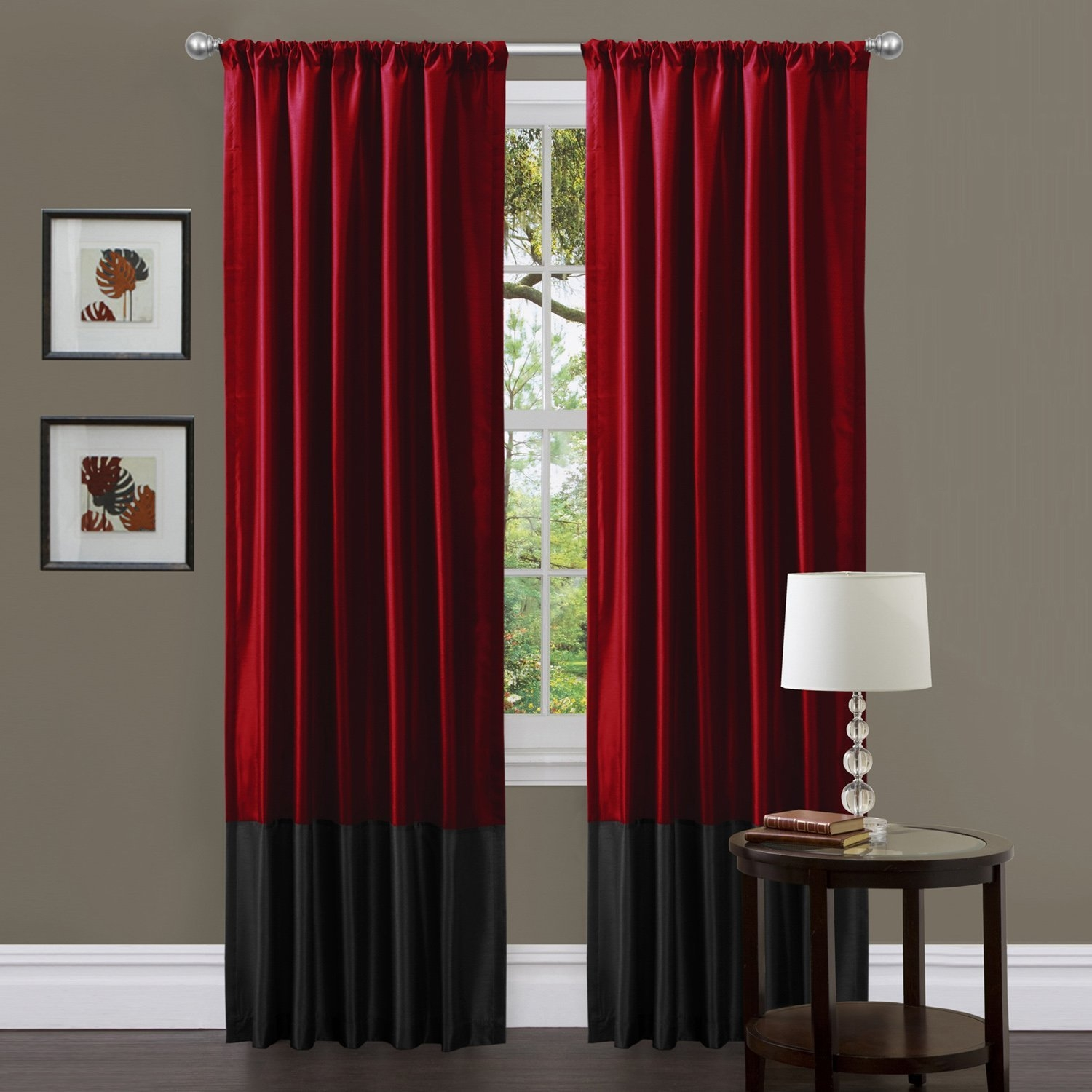 Shop Amazon Window Panels For 54 Inch Long Curtain Panels (View 21 of 25)