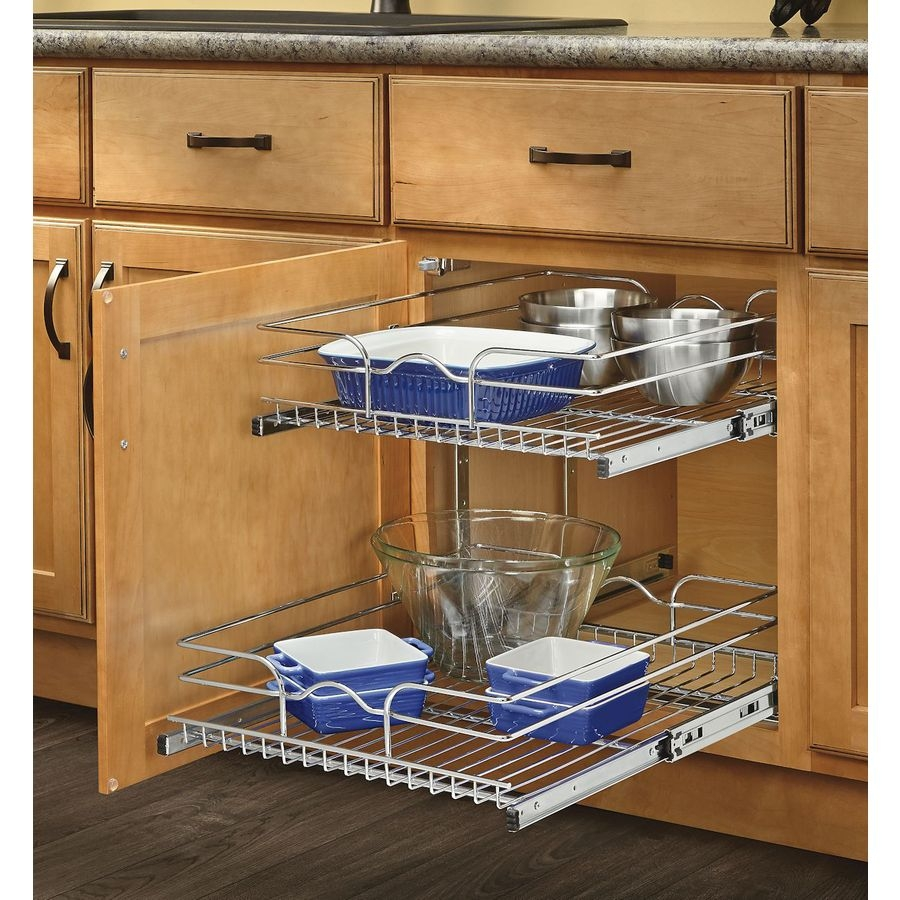 Shop Cabinet Organizers At Lowes Inside Cupboard Organizers (Image 20 of 25)