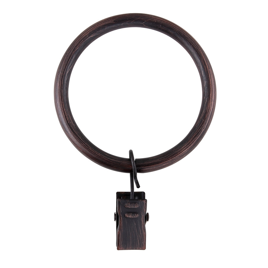 Shop Curtain Rings At Lowes In Black Curtain Rings (Image 19 of 25)