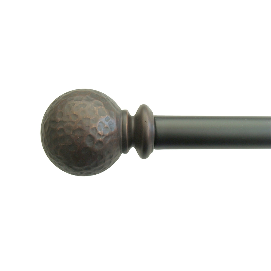 Shop Curtain Rods At Lowes Inside Antique Curtain Rods (View 24 of 25)