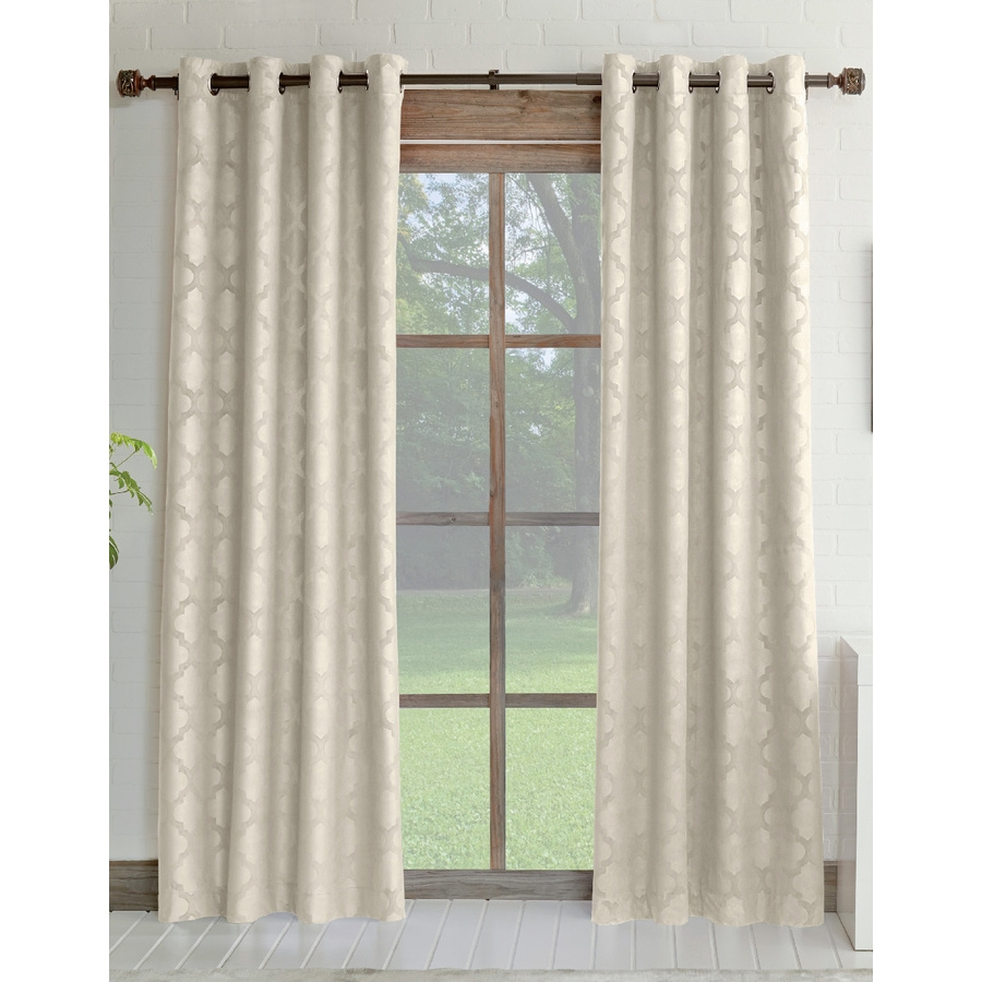 Shop Curtains Drapes At Lowes Throughout 63 Inches Long Curtains (Image 24 of 25)