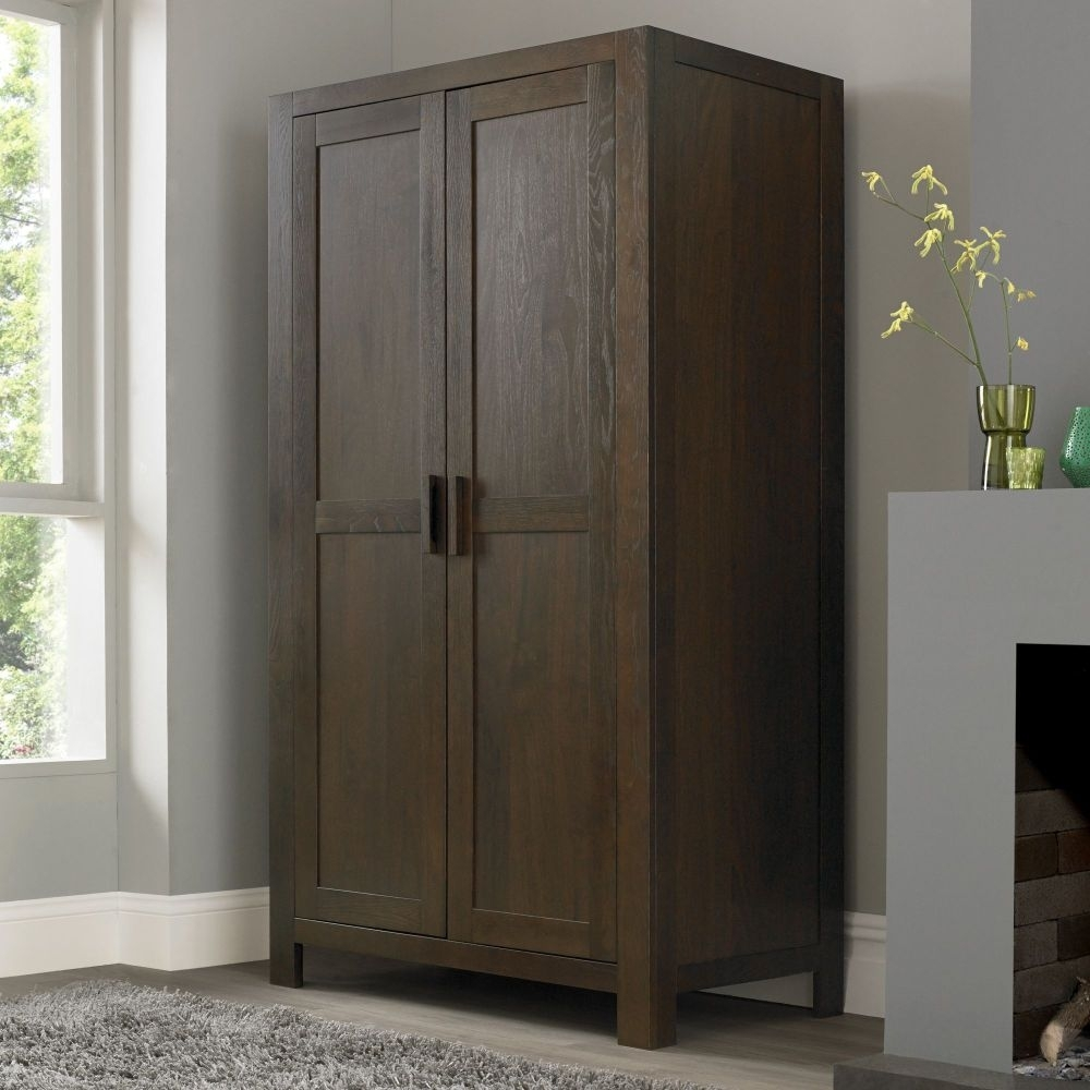 Shop Exclusively Designed Dark Wood Wardrobe Online Pertaining To Solid Dark Wood Wardrobes (Image 11 of 15)