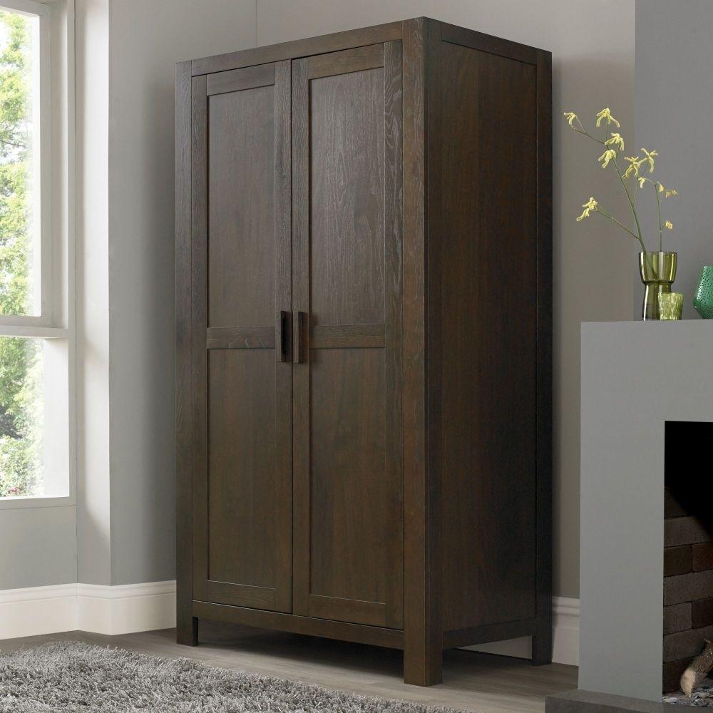 Shop Exclusively Designed Dark Wood Wardrobe Online Throughout Dark Wood Wardrobes (View 5 of 15)