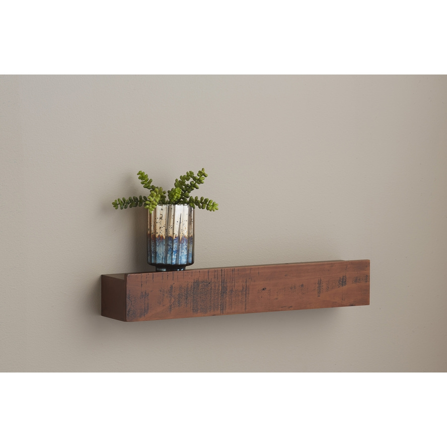 Shop Wall Mounted Shelving At Lowes With Wall Shelves (Image 10 of 15)