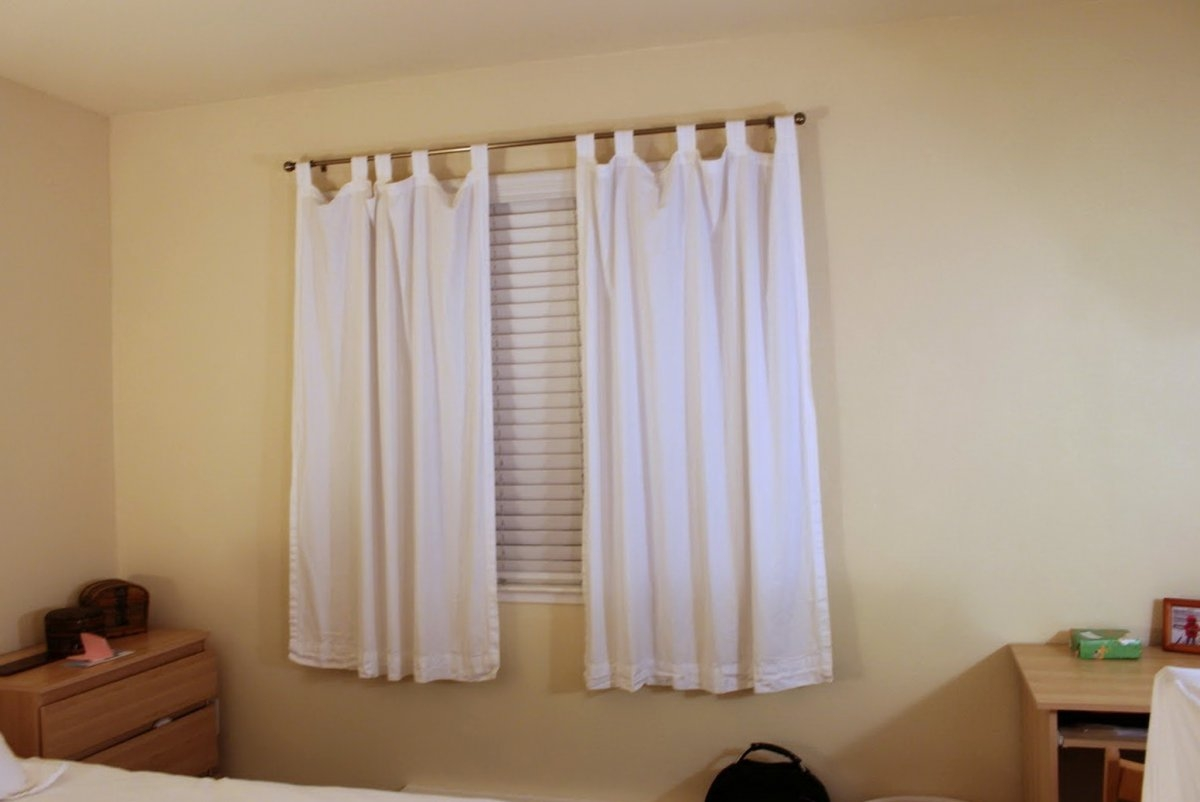 Short Length Bedroom Curtains Pierpointsprings Pertaining To Short Brown Curtains (Image 20 of 25)