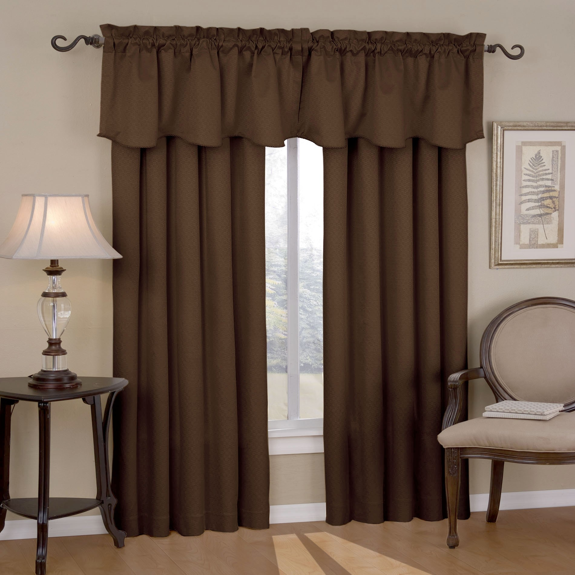 Short White Blackout Curtains Suited Modest Design Bedroom Inside Short Brown Curtains (Image 21 of 25)
