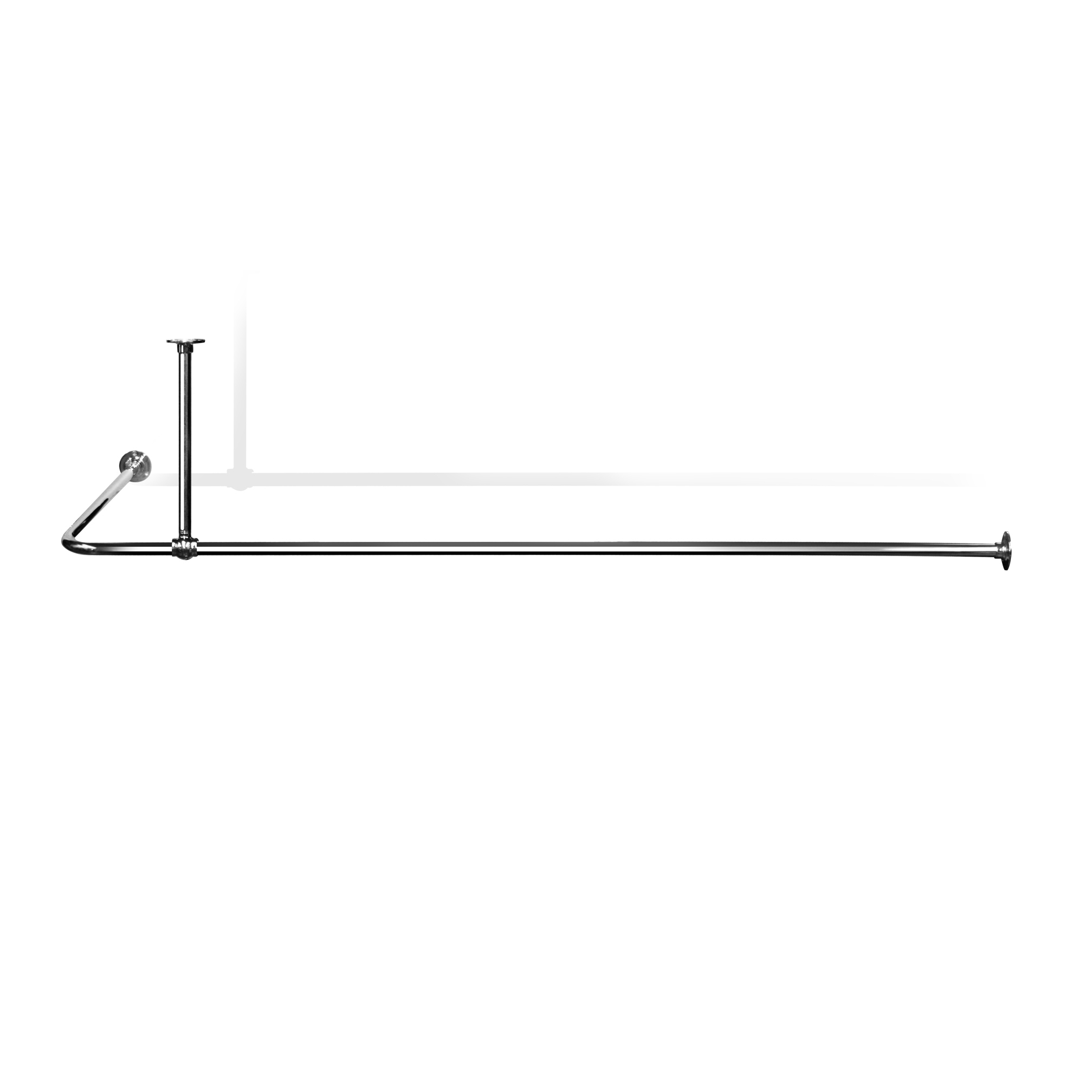 Shower Curtain Rod L Shaped Canada Curtain Menzilperde With Regard To L Curtain Rods (Image 21 of 25)