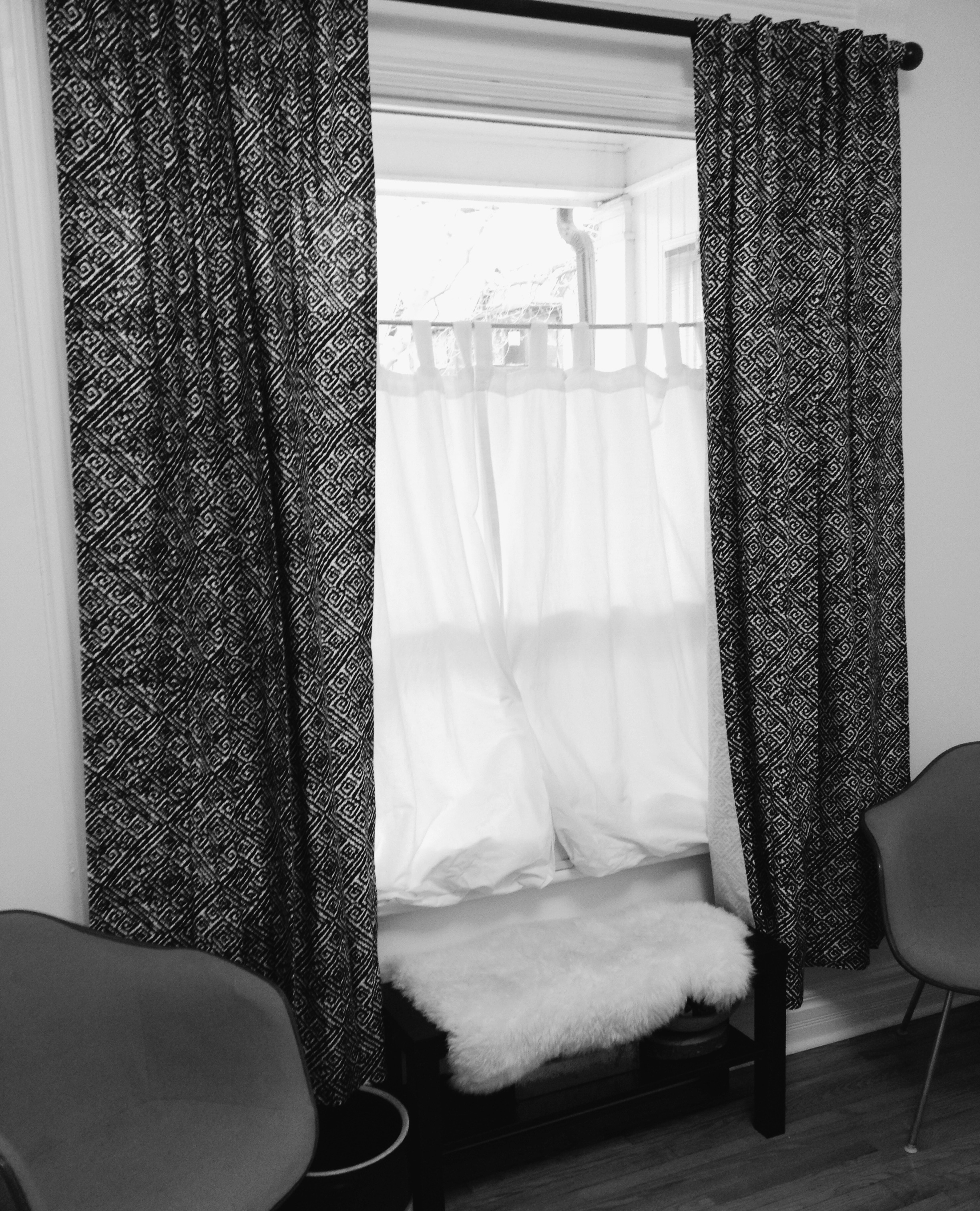 Simple Bedroom Privacy Window Treatment Throughout Inexpensive Curtains For Large Windows (Image 19 of 25)
