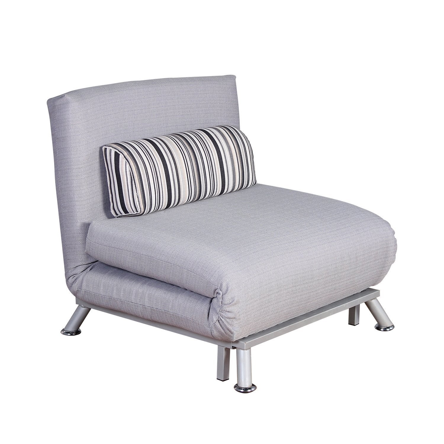 Single Fold Out Chair Bed Fold Out Futon Sofa Bed Single Sofa Regarding Single Sofa Bed Chairs (Image 7 of 15)