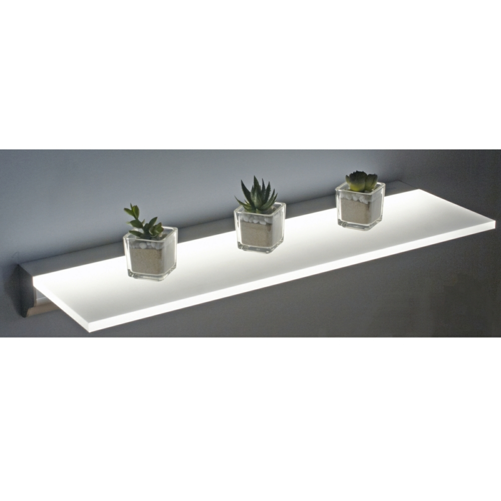 Sirius Floating Led Shelf Lighting For Led Floating Glass Shelves (Image 13 of 15)