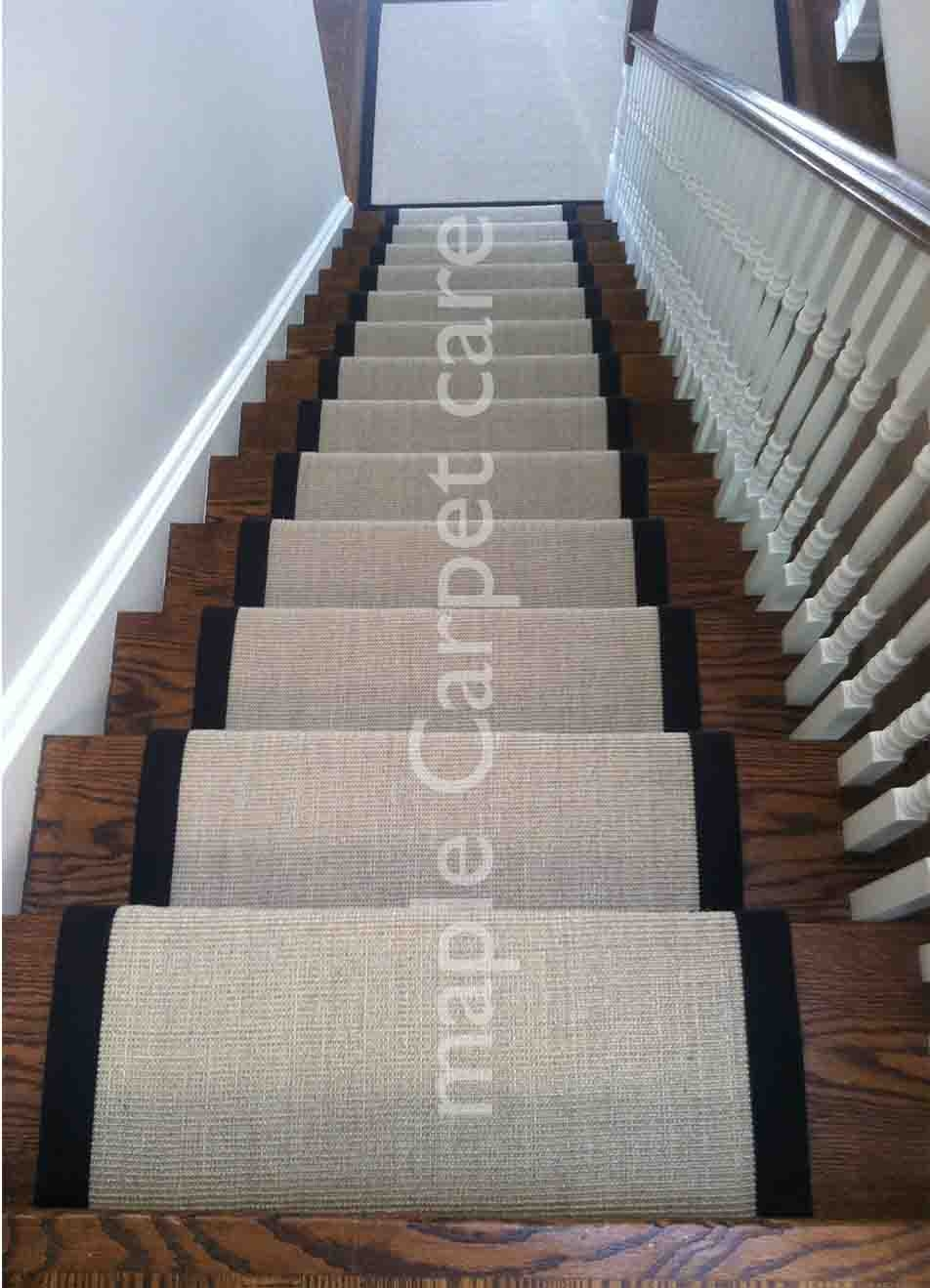 Sisal Stair Runners Toronto Wool Stair Runner Ideas For Sisal Stair Tread Rugs (Image 13 of 15)