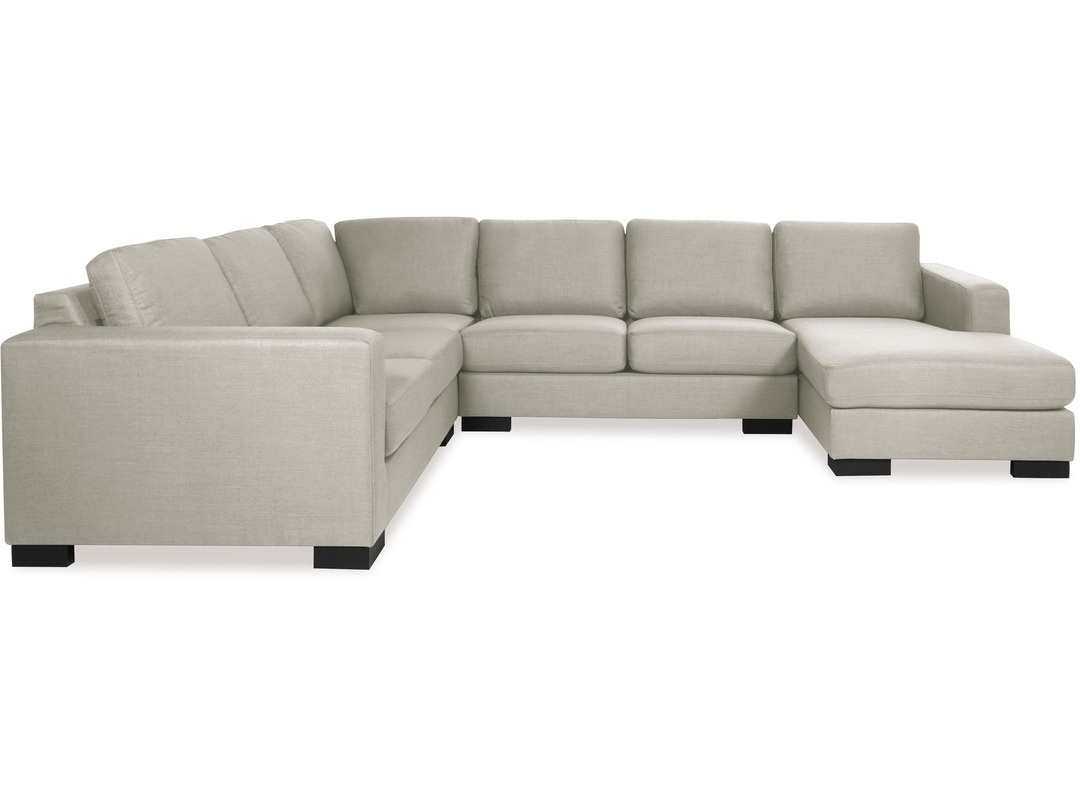 Sit Back And Embrace The Comfort Of The Canterbury Corner Lounge Inside Canterbury Leather Sofas (Image 10 of 15)