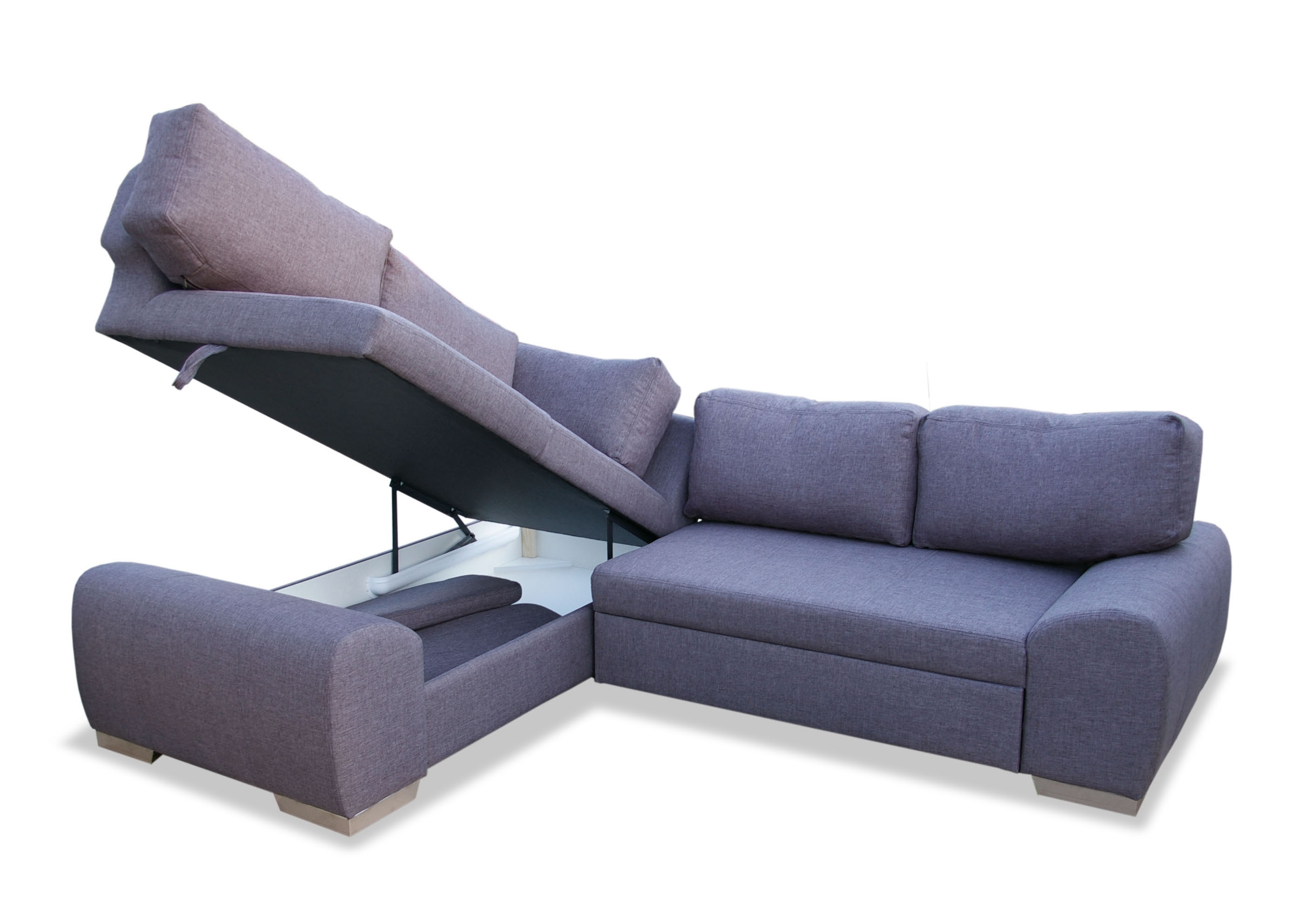 Sky Fabric Corner Sofa Bed With Storage S3net Sectional Sofas For Corner Sofa Bed Sale (View 6 of 15)