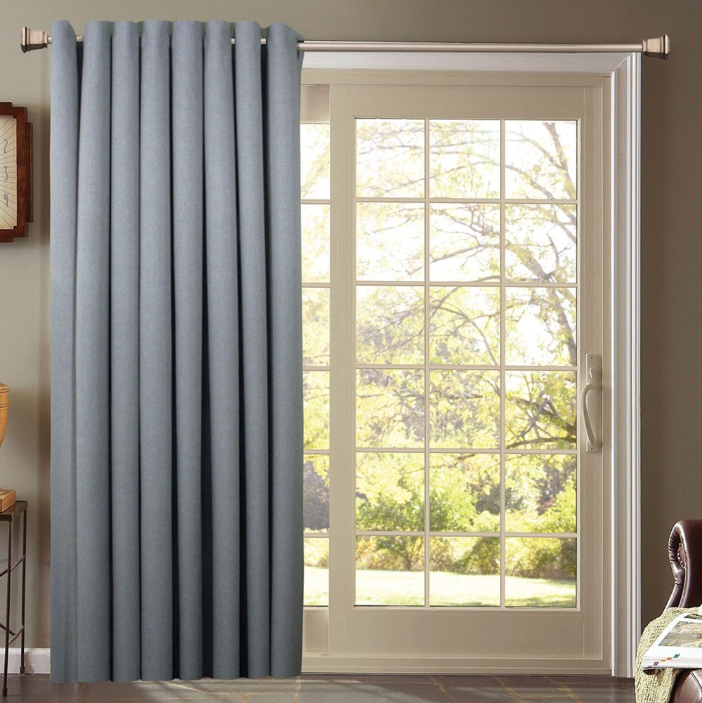Sliding Door Curtains 3 Panelspatio Door Sliding Patio Door With Sliding Glass Door Curtains (Image 15 of 25)