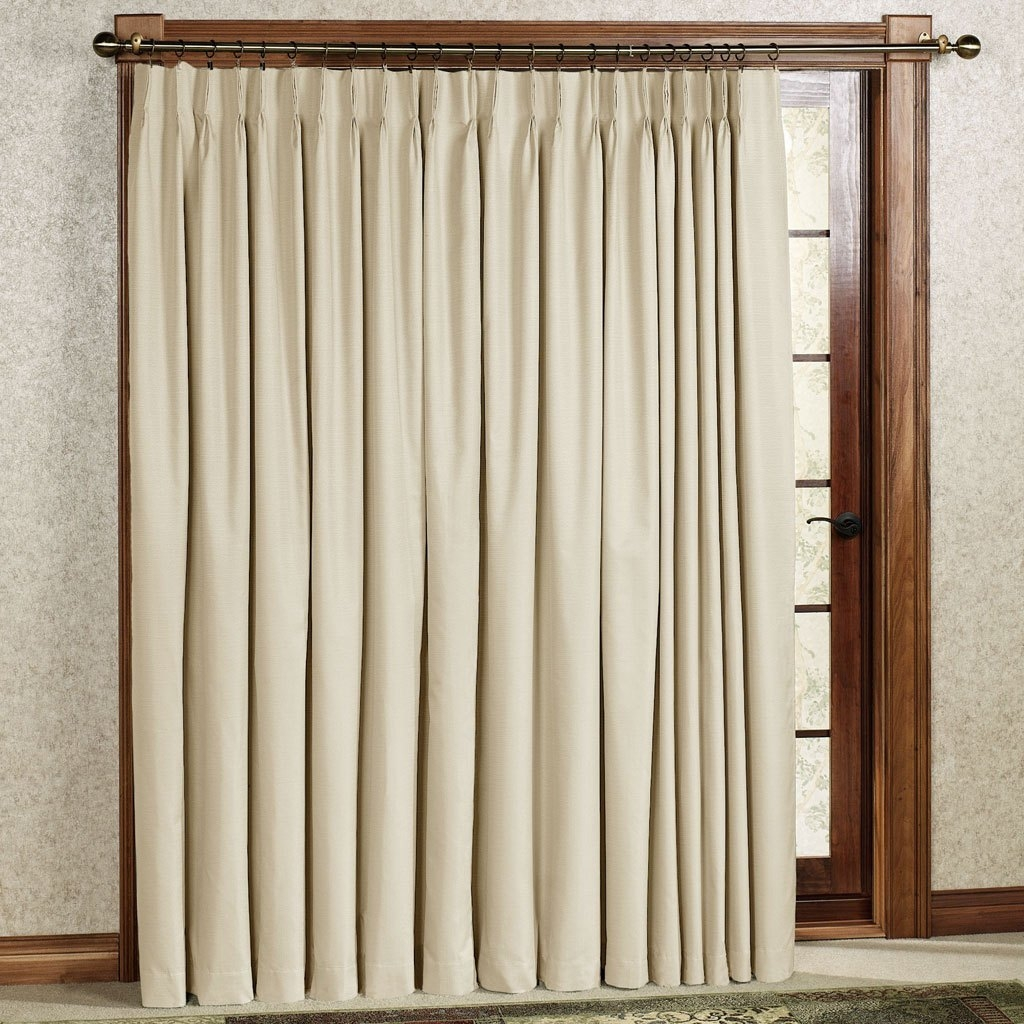 Sliding Glass Door Curtain Rod For Sliding Glass Door Curtains (Image 16 of 25)