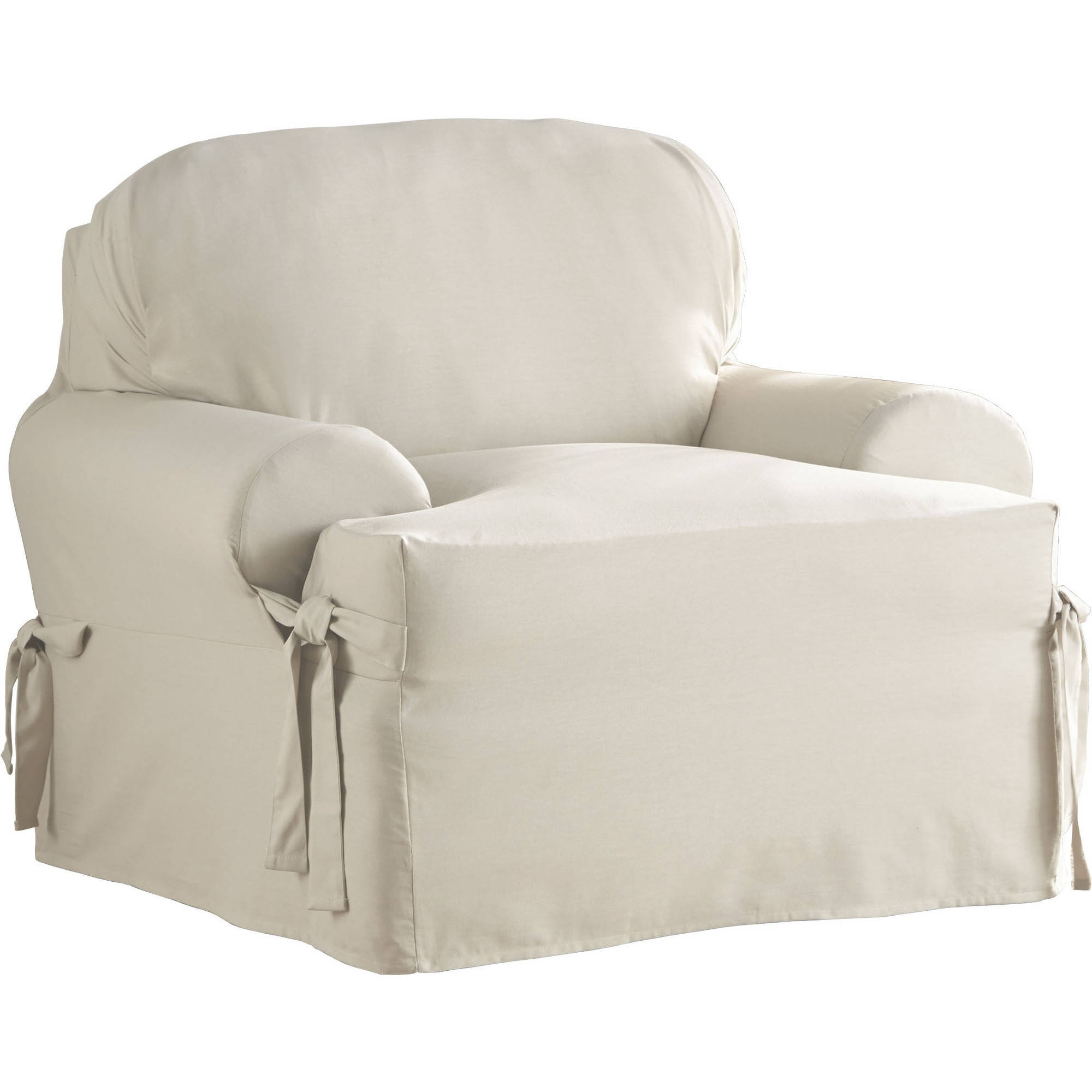 Slipcovers Walmart With Slipcovers For Chairs And Sofas (Image 11 of 15)