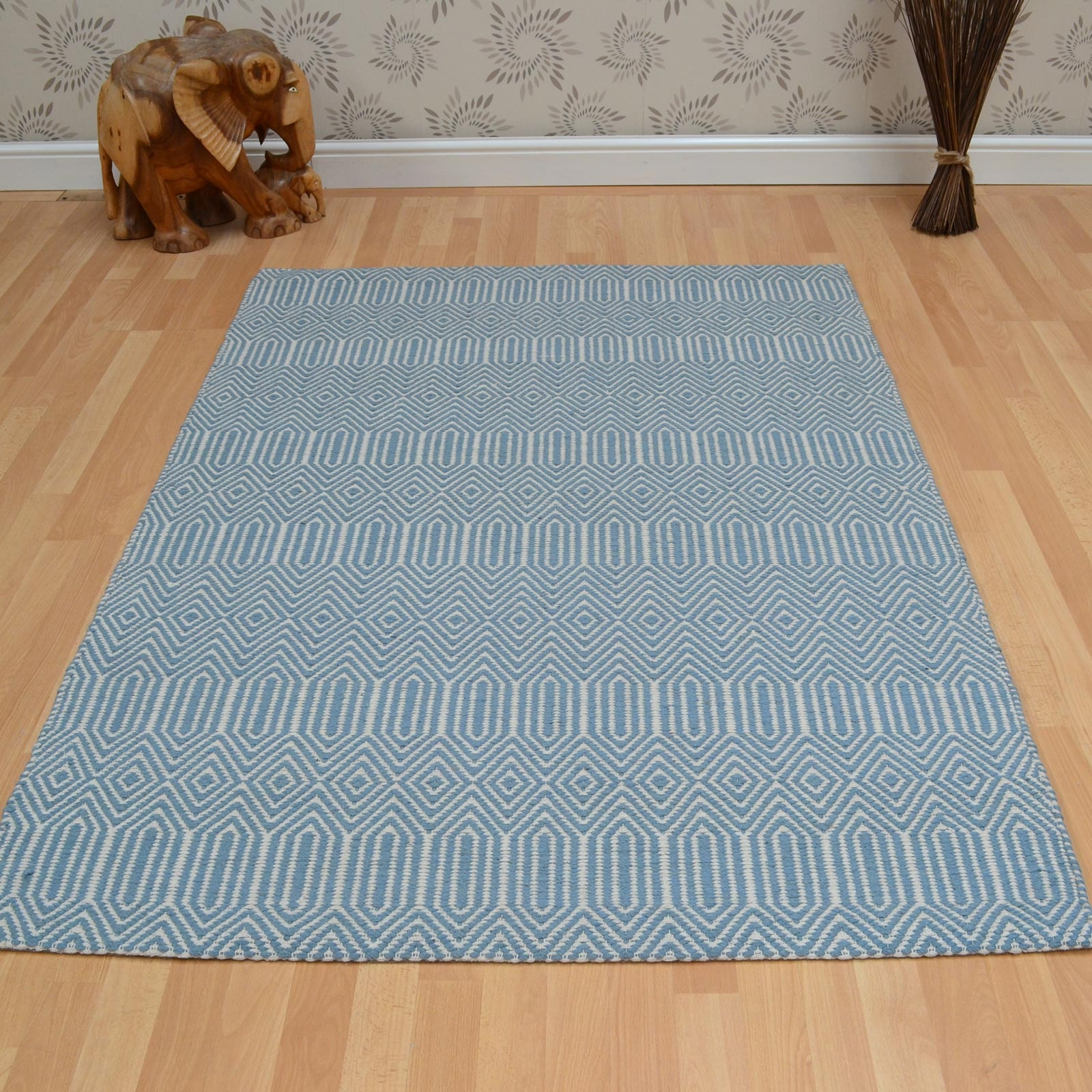 Sloan Rugs In Duck Egg Free Uk Delivery The Rug Seller Throughout Duck Egg Rugs (Image 14 of 15)