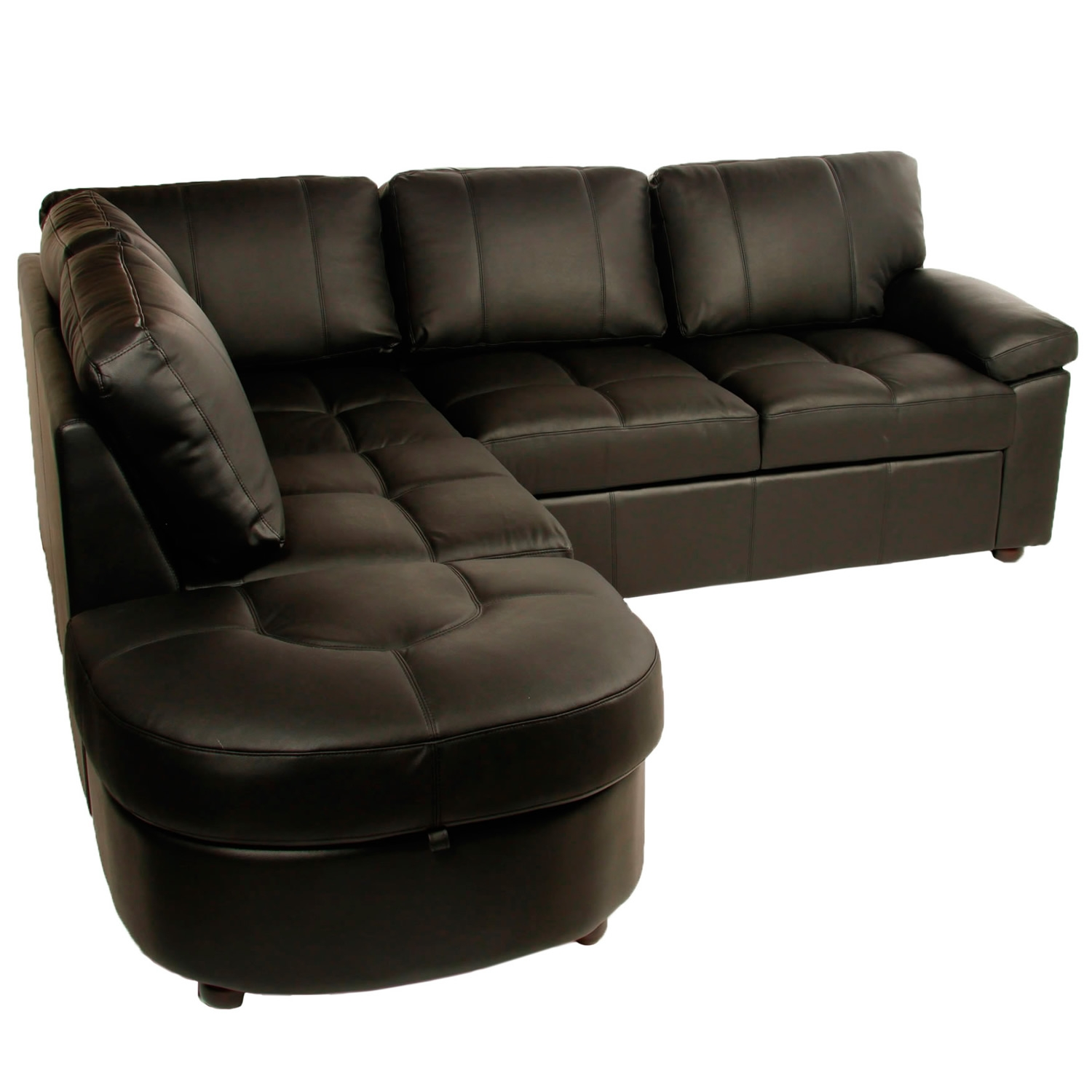 Small Corner Sofa Beds Uk Hereo Sofa Throughout Leather Corner Sofa Bed (Image 11 of 15)