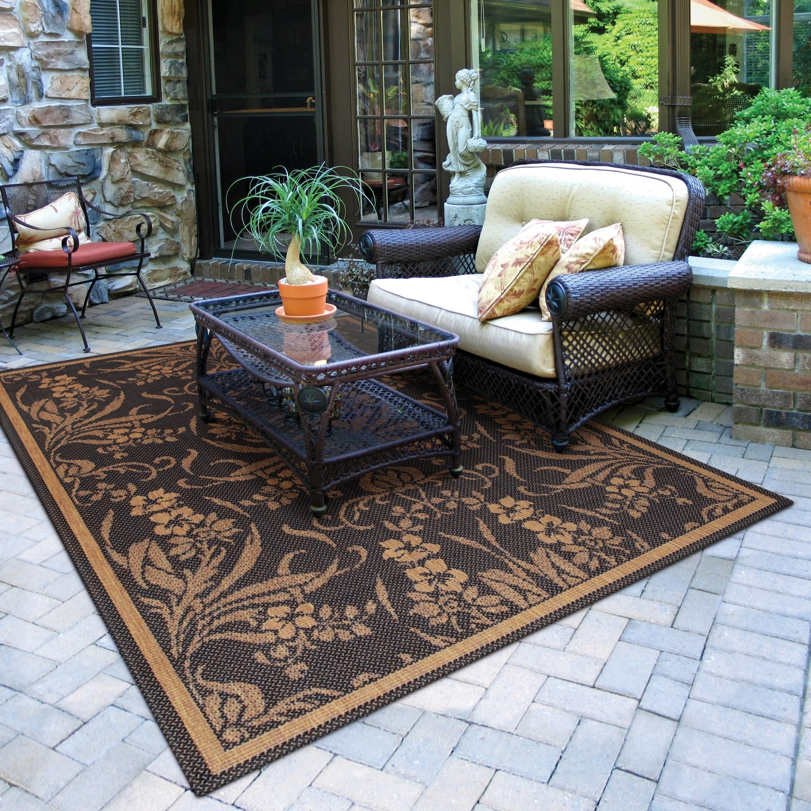 Small Indoor Outdoor Rugs Inexpensive Indoor Outdoor Rugs 4 Within Outside Carpets (Image 15 of 15)