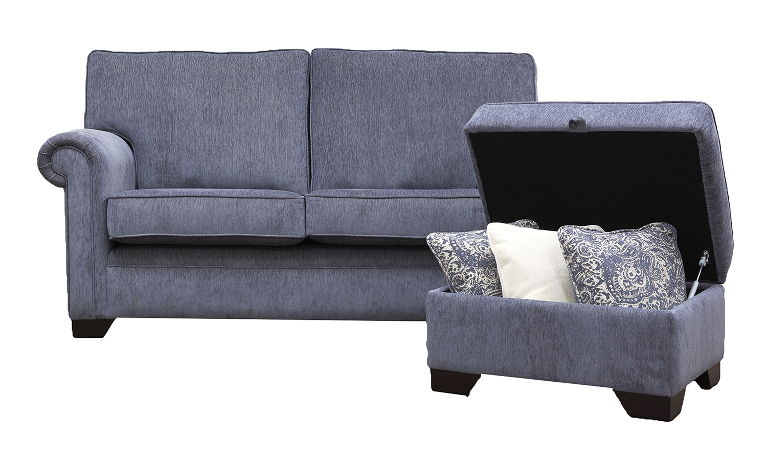 Small Space Choose Our Bespoke Option Finline Furniture Blog Inside Bespoke Corner Sofa Beds (Image 14 of 15)