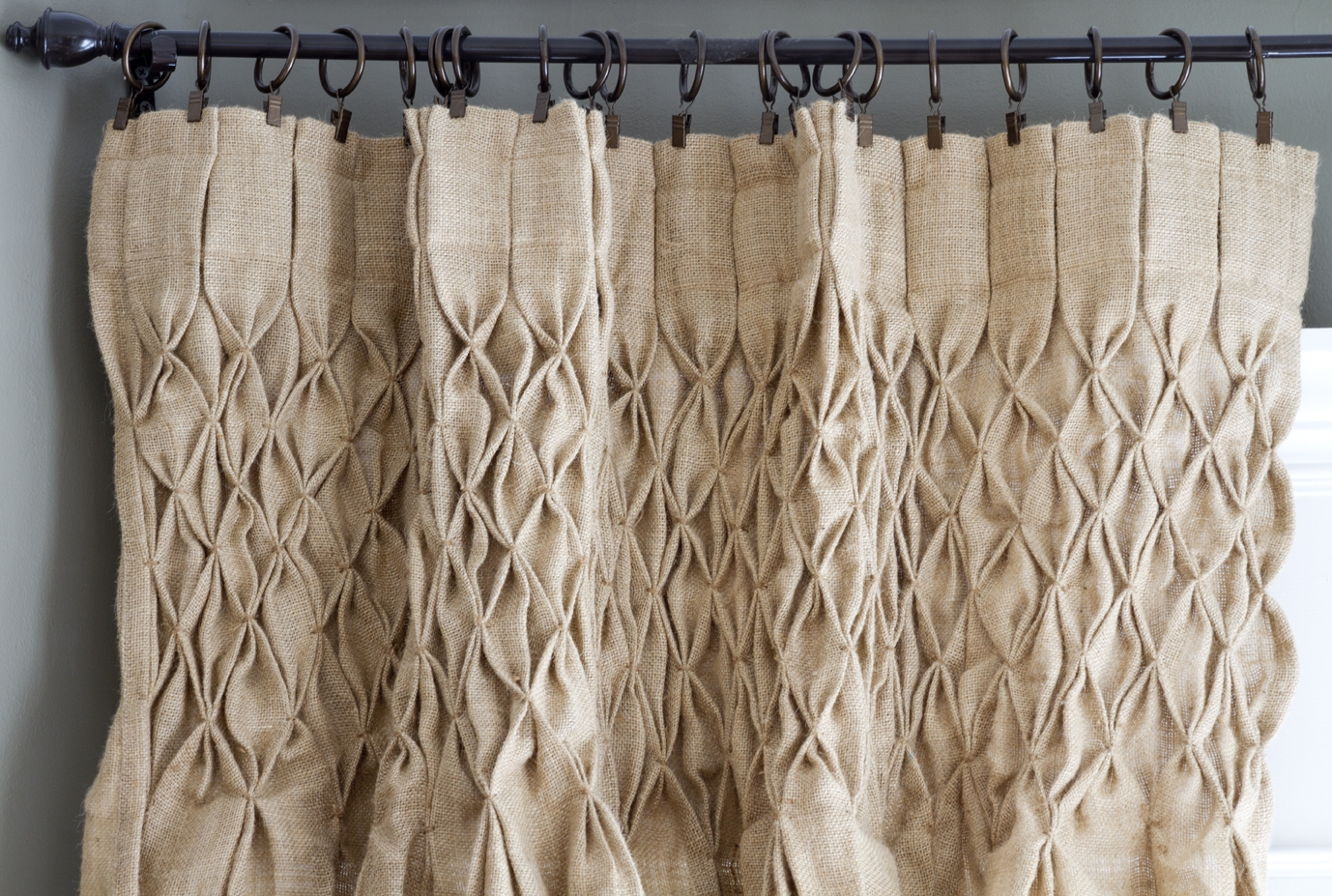 Featured Image of Burlap Curtains