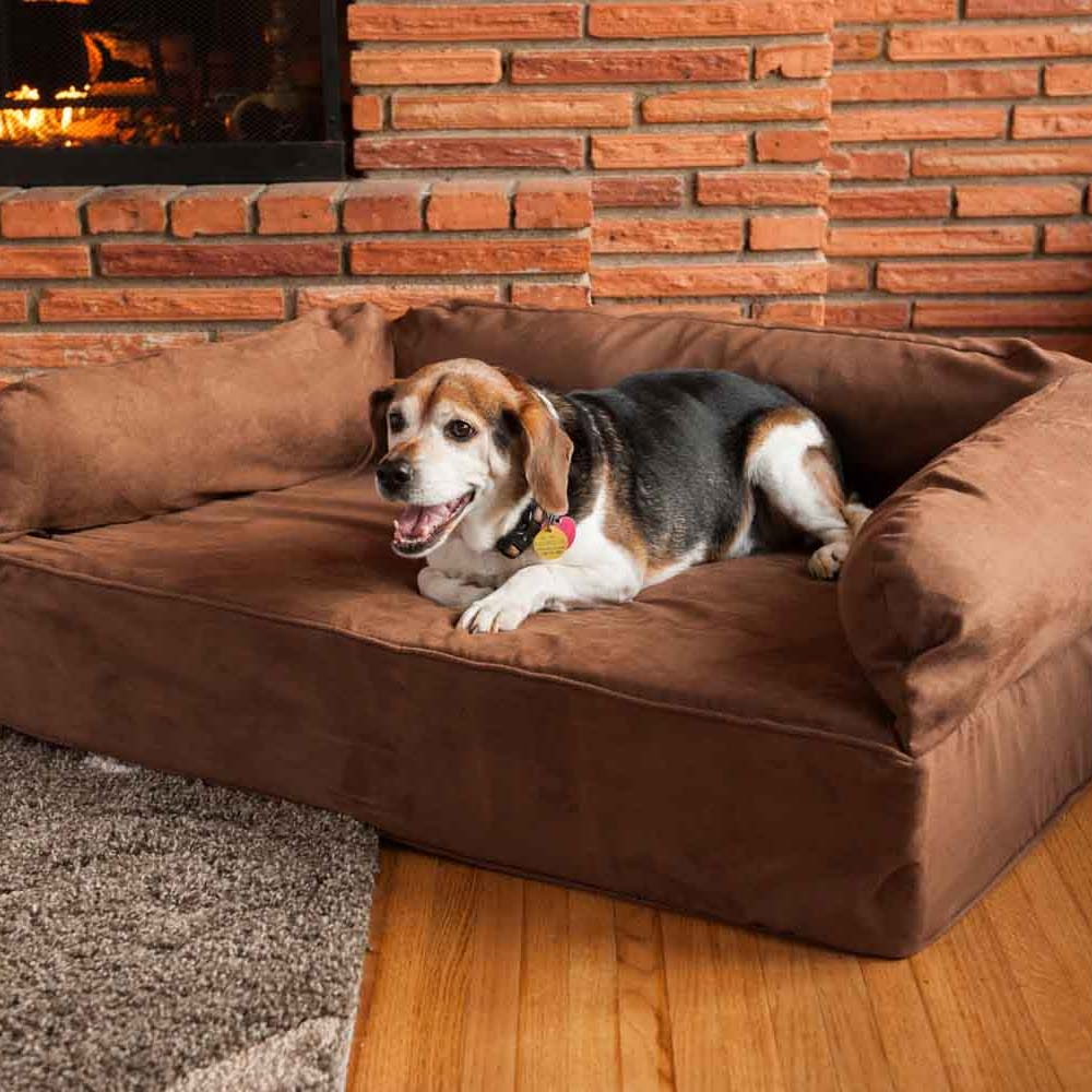 Snoozer Luxury Dog Sofa Dog Couch Microsuede Fabric For Sofas For Dogs (Image 6 of 15)