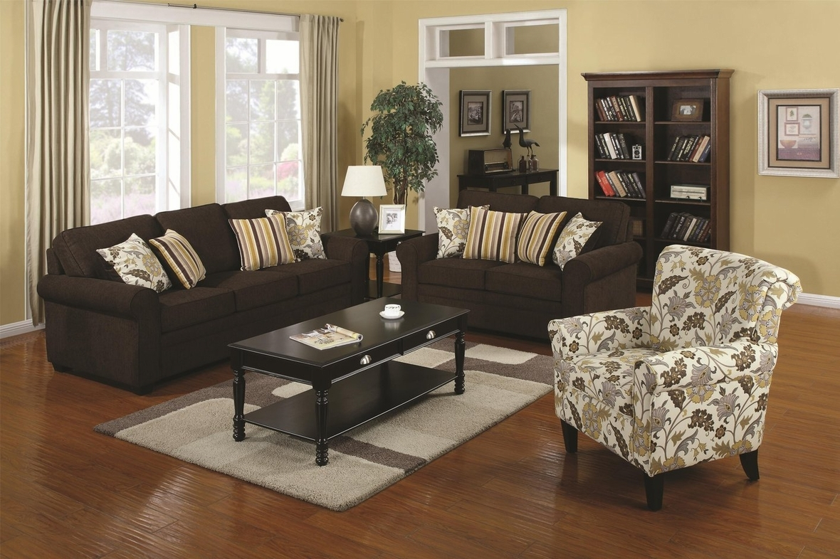 Sofa And Accent Chair Pertaining To Sofa And Accent Chair Set (Image 14 of 15)