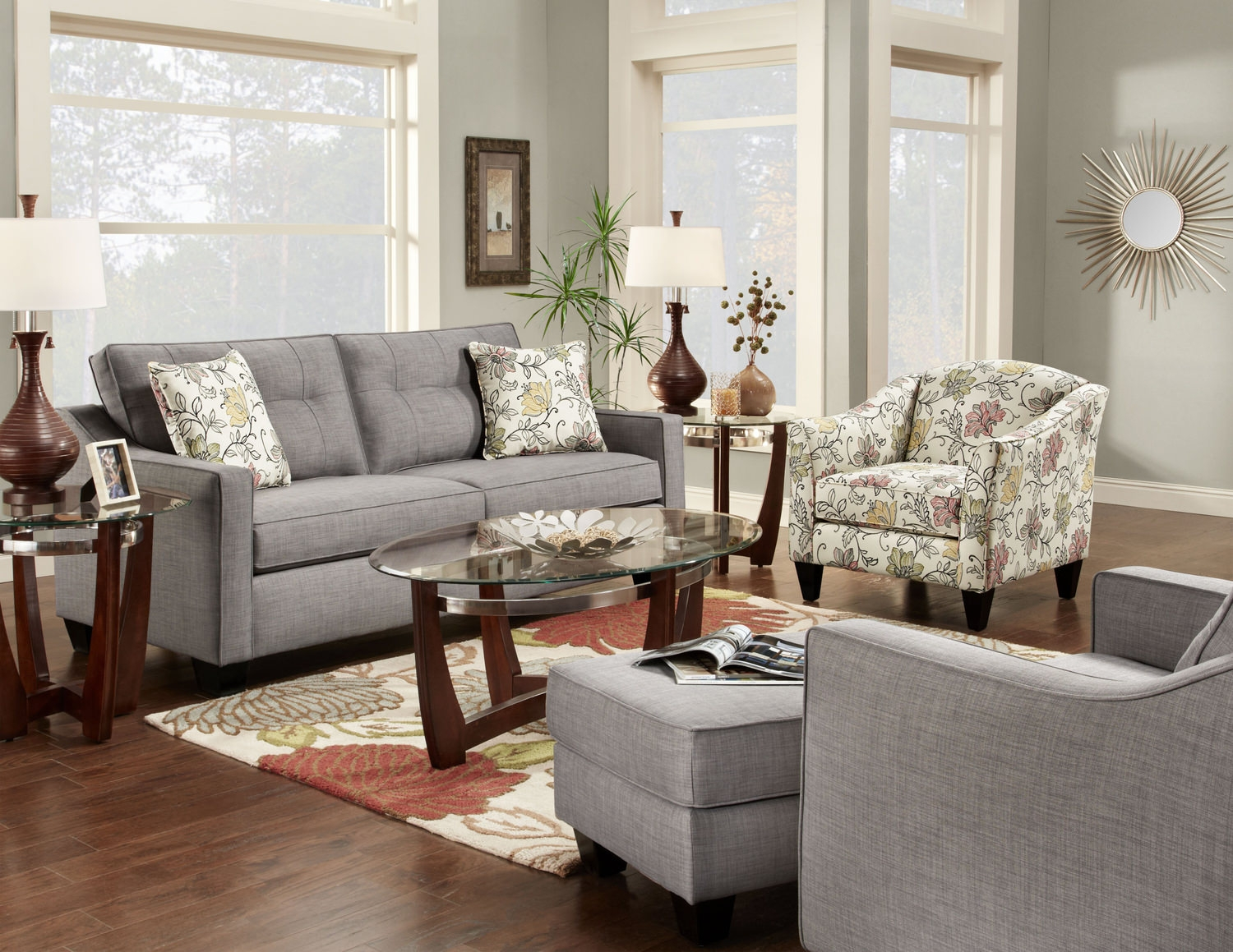 Sofa And Accent Chair Set Endearingenchanting Kavandeco Intended For Sofa And Accent Chair Set (Image 15 of 15)