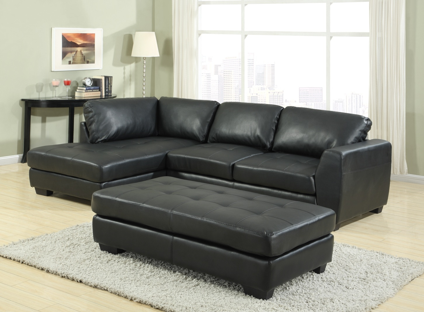 Sofa Bed Leather Corner Tehranmix Decoration For Leather Corner Sofa Bed (Image 12 of 15)