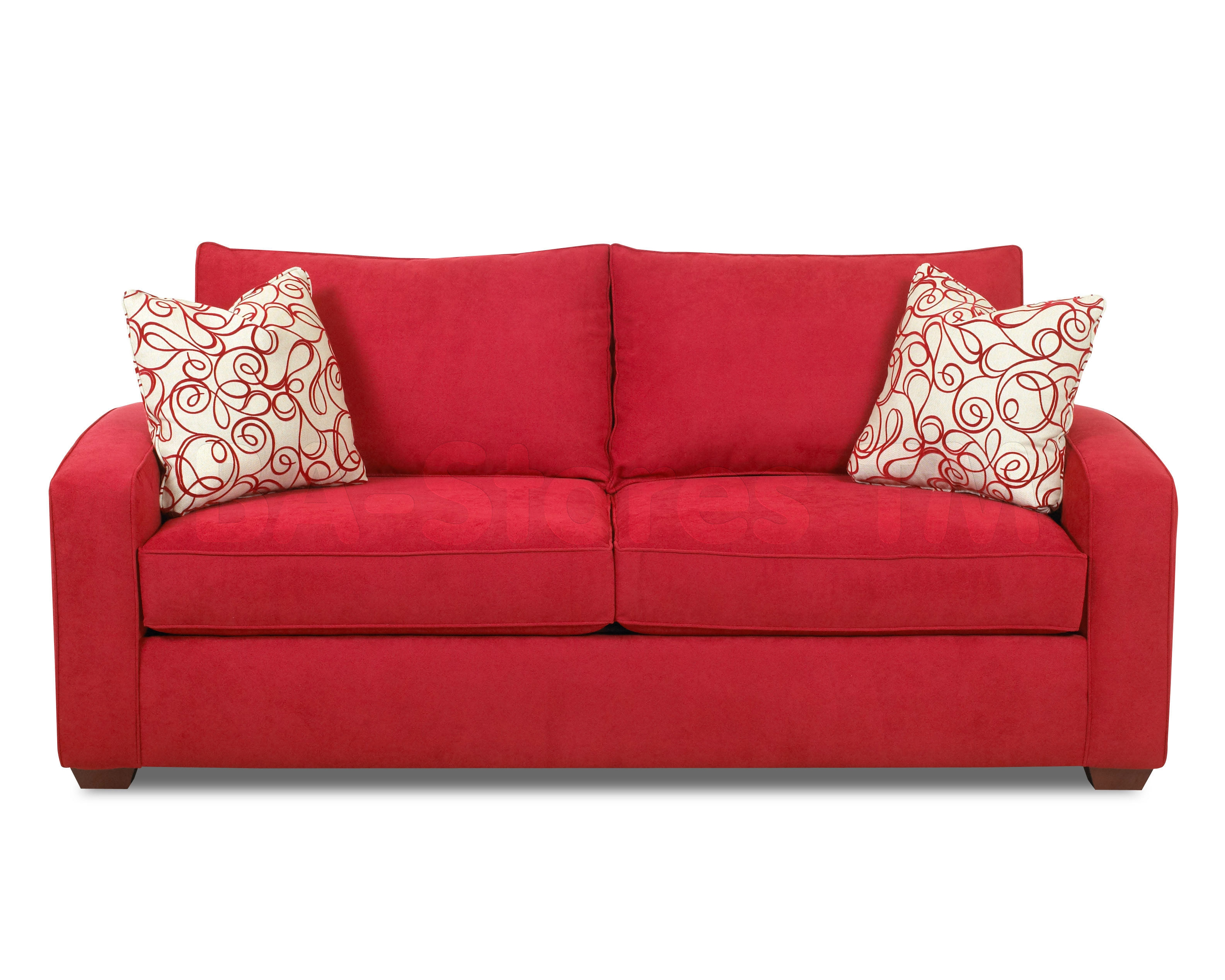 Sofa Furniture Best Sofas Ideas Sofascouch Regarding Red Sofa Chairs (Image 14 of 15)