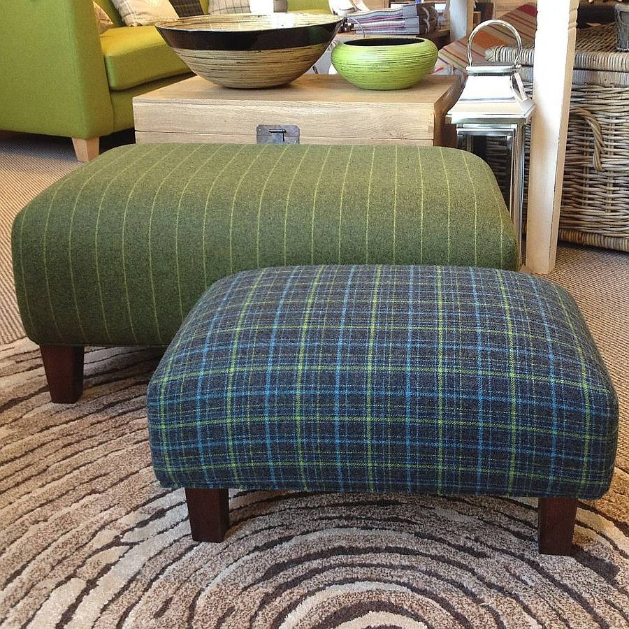 Sofa Large Upholstered Footstool Square Topglory With Regard To Upholstered Footstools (Image 11 of 15)