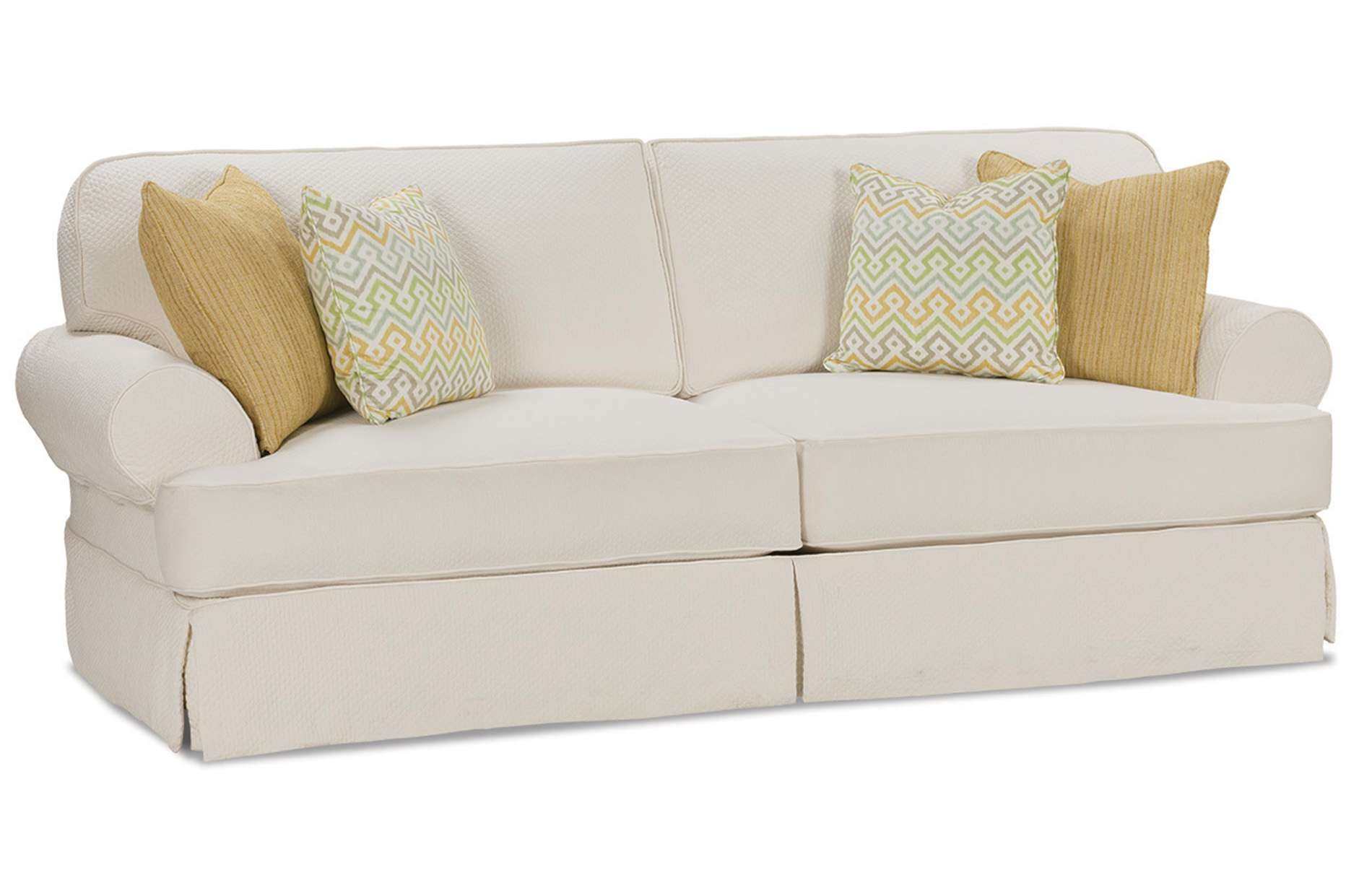 Sofa Slipcovers Ottoman Slipcovers Sectional Slipcovers Rowe Pertaining To Slipcovers For Chairs And Sofas (Image 12 of 15)