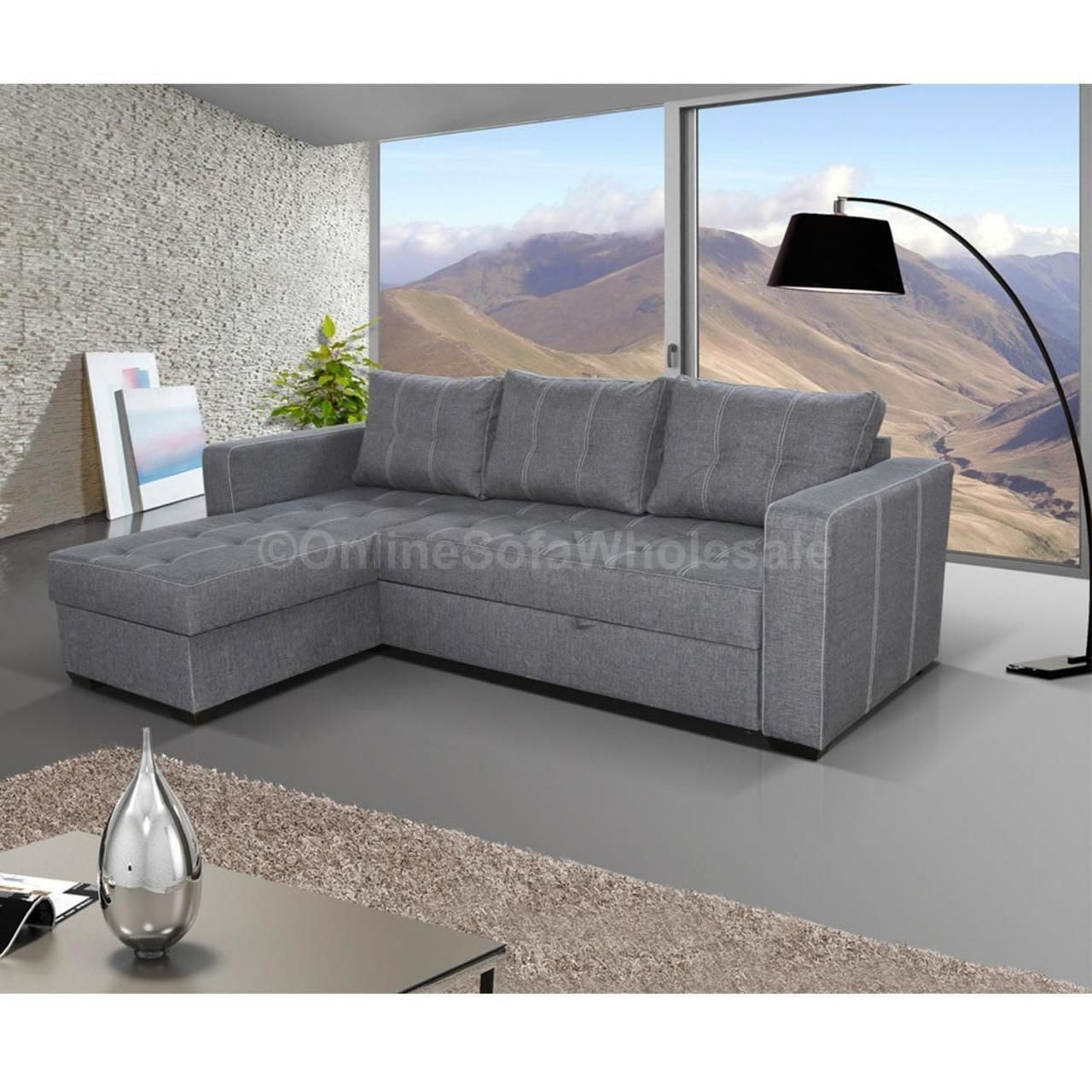 Sofa Storage Bed Uk Top 10 Best Leather Corner Sofa Bed With Inside Cheap Corner Sofa Beds (Image 13 of 15)